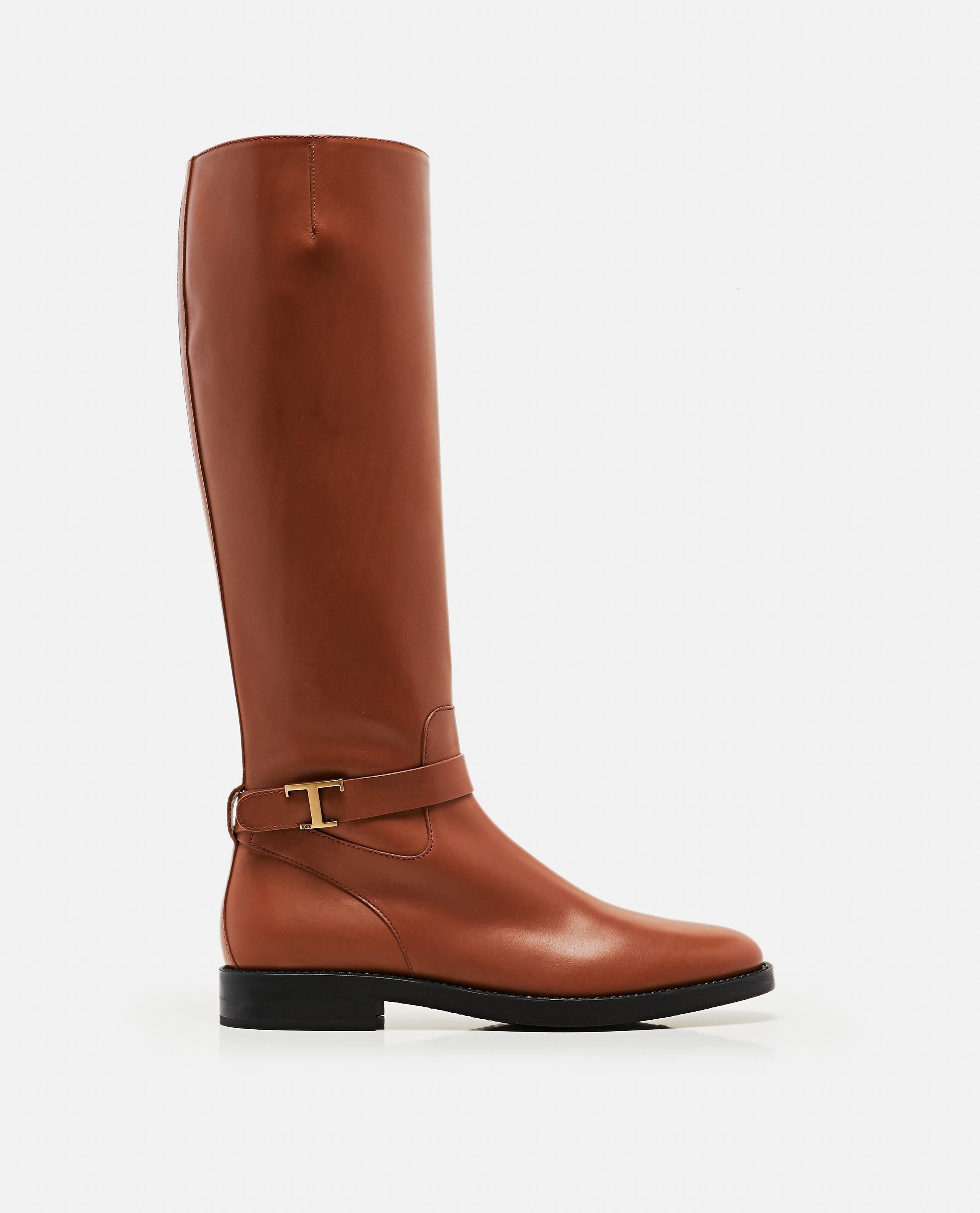 Boots with logo plaque Women Tod's 000255630037776 1