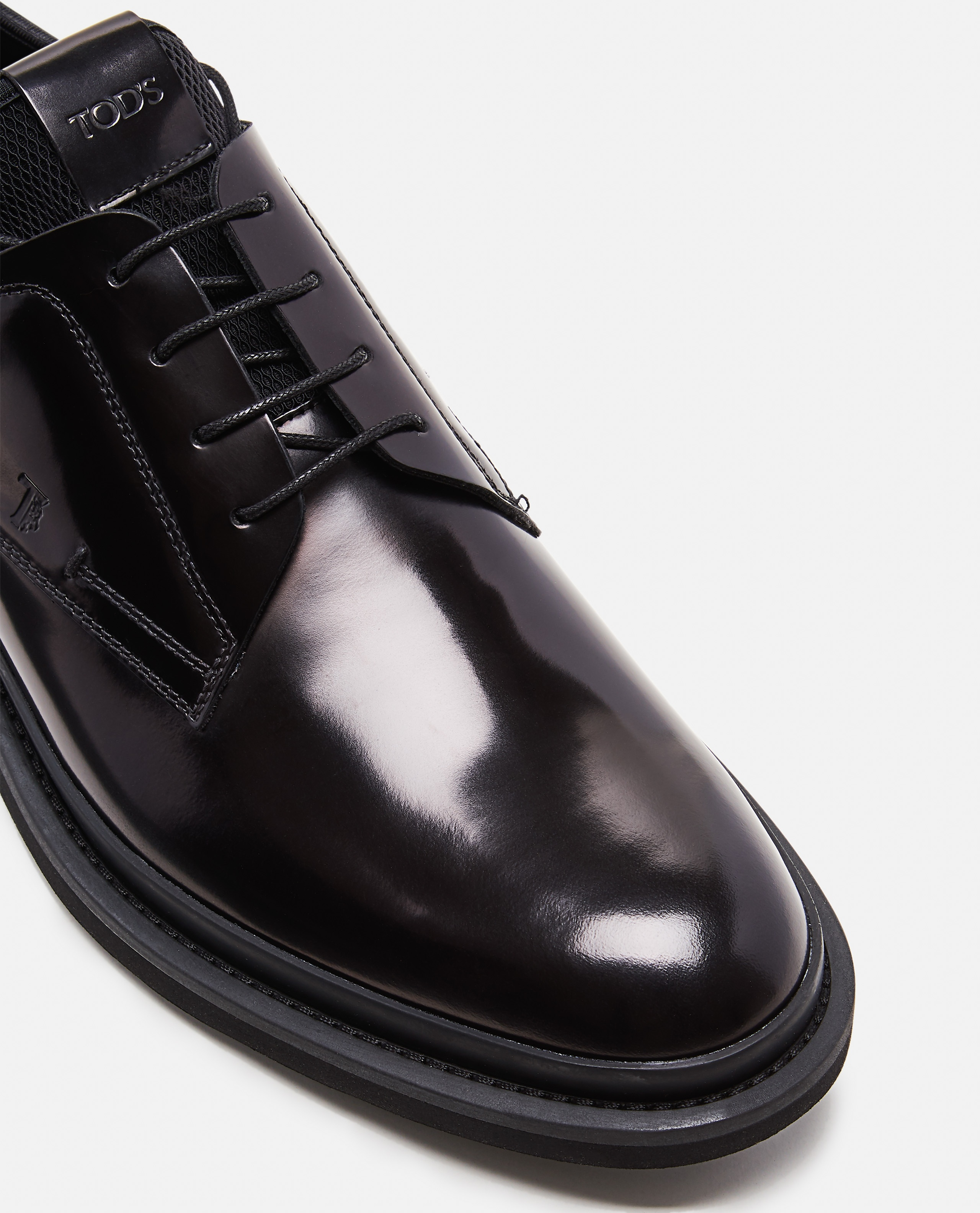 Smooth leather lace-up Men Tod's 000268540039602 4