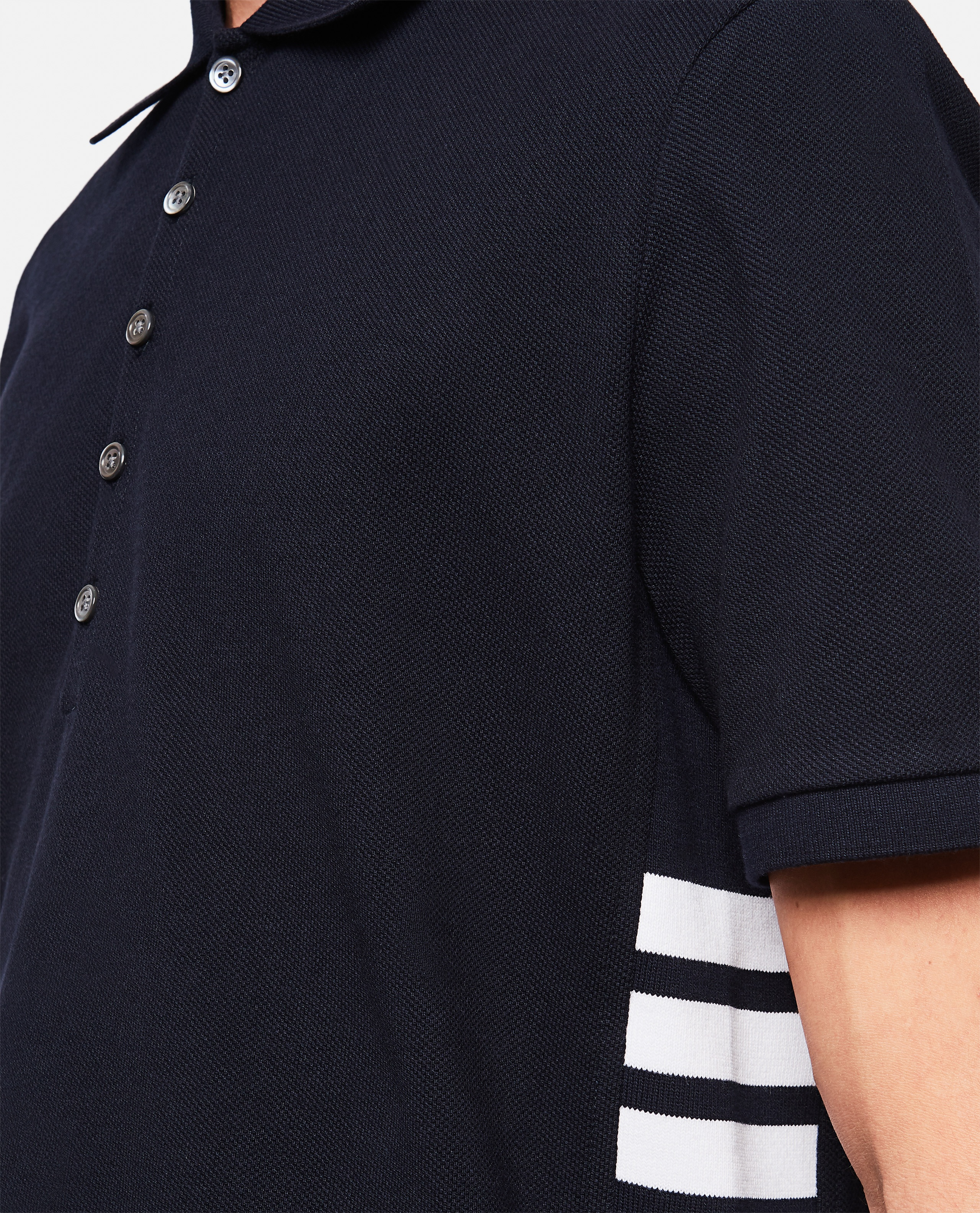 Thom Browne 4-Bar polo shirt  Men Thom Browne 000253530037449 4