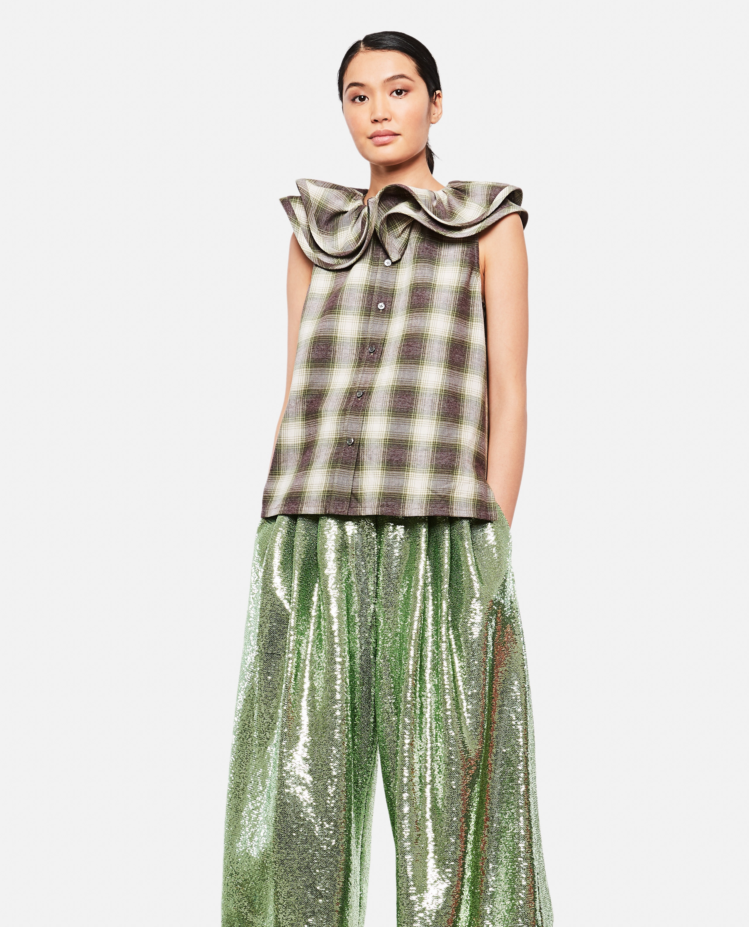 Top With Ruffles Women Marc Jacobs 000174540026050 1