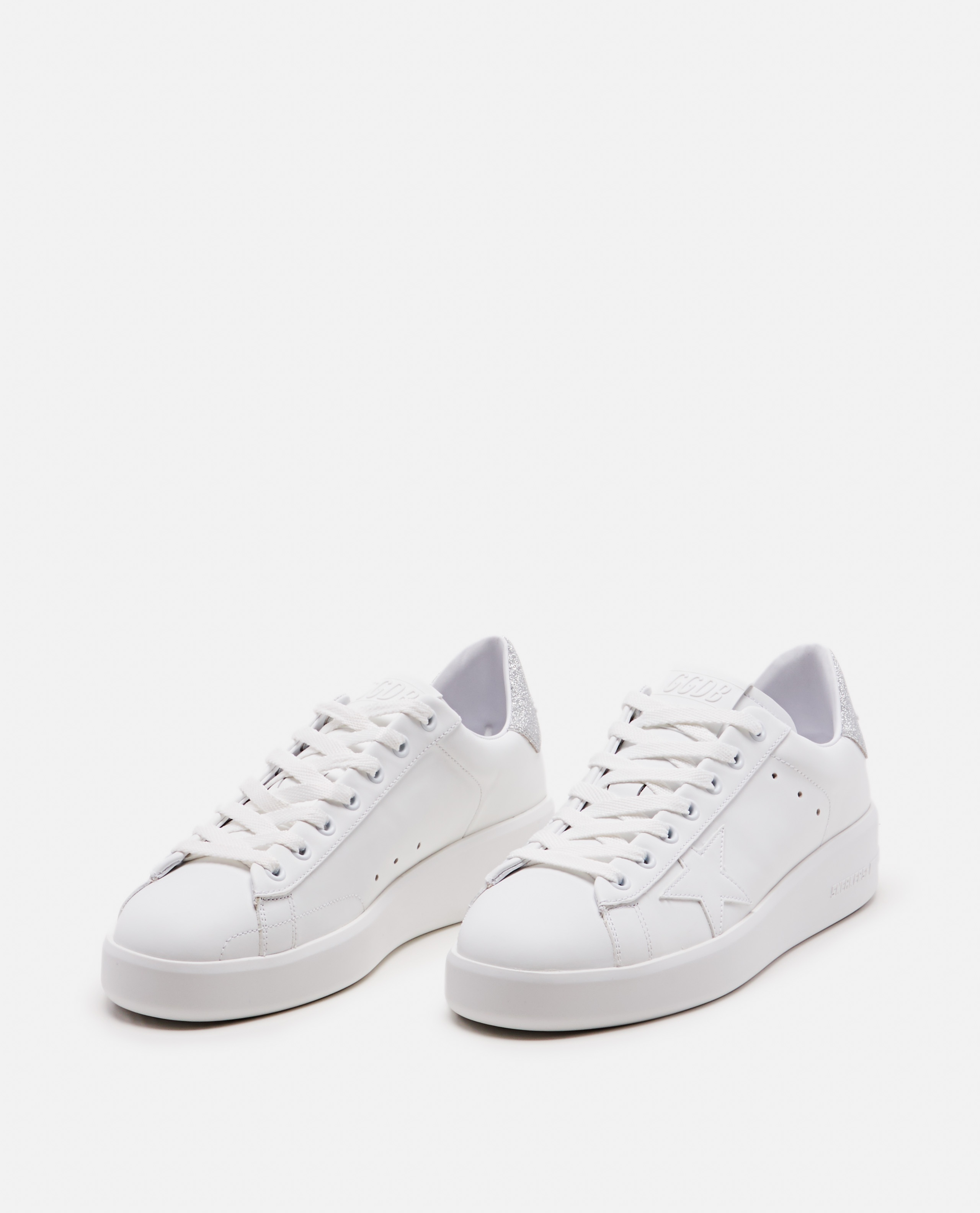 White leather sneakers  Women Golden Goose 000215590031979 2