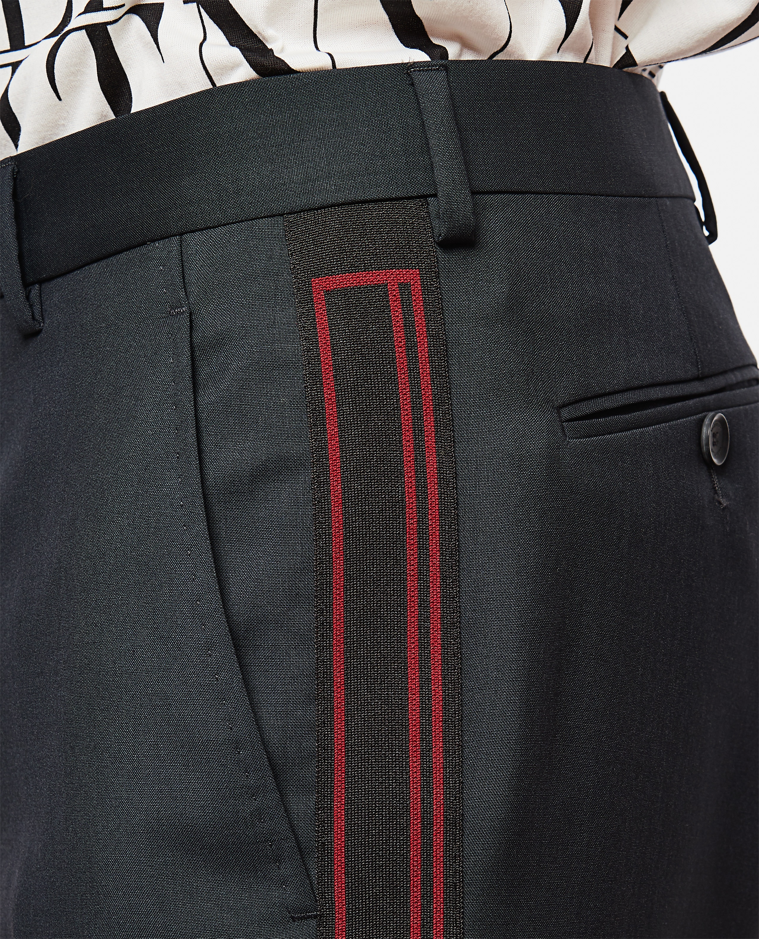 Slim fit trousers Men Valentino 000263490038956 4