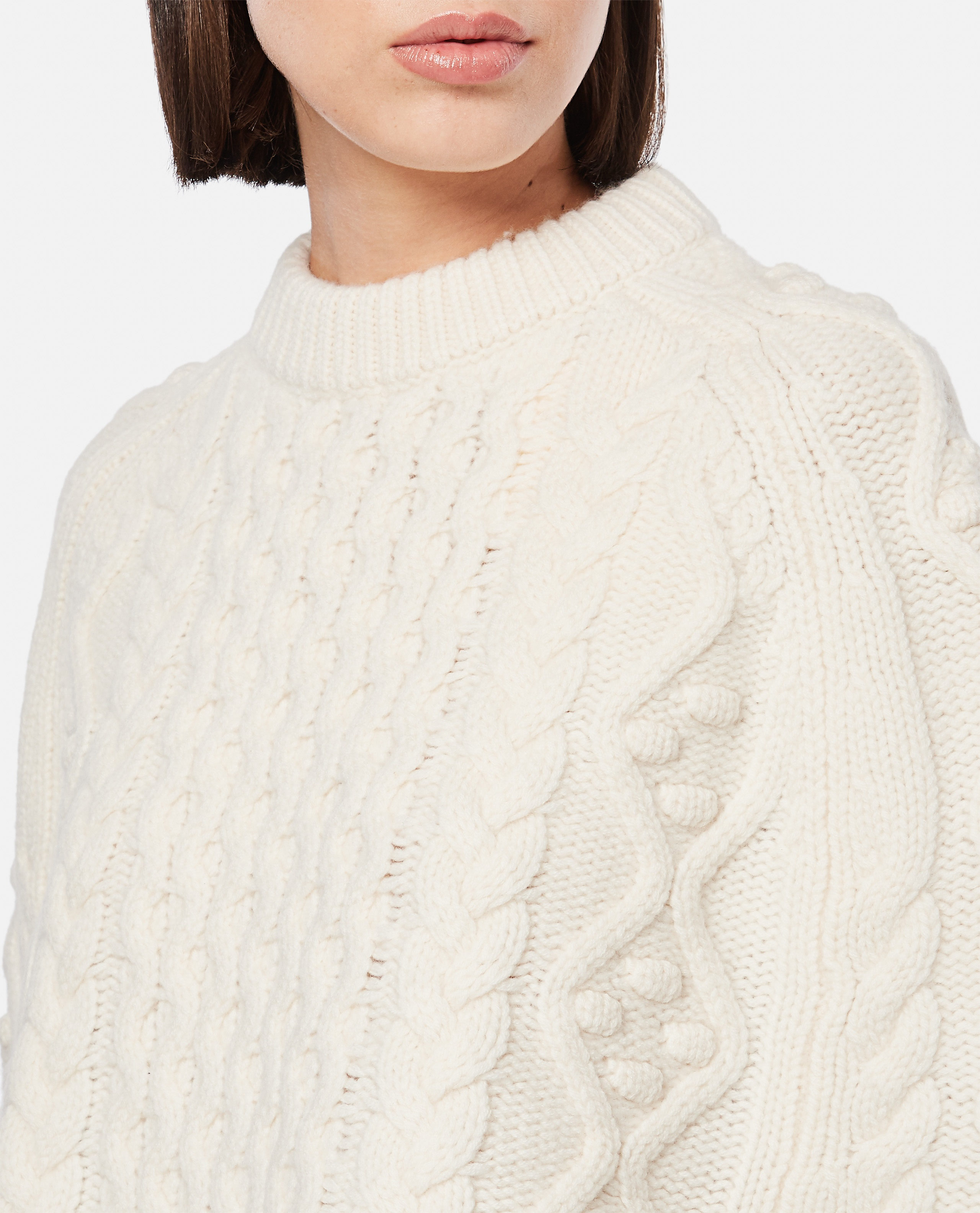 BEIRO WOOL AND CASHMERE CAPE Women Loulou Studio 000345690050421 4