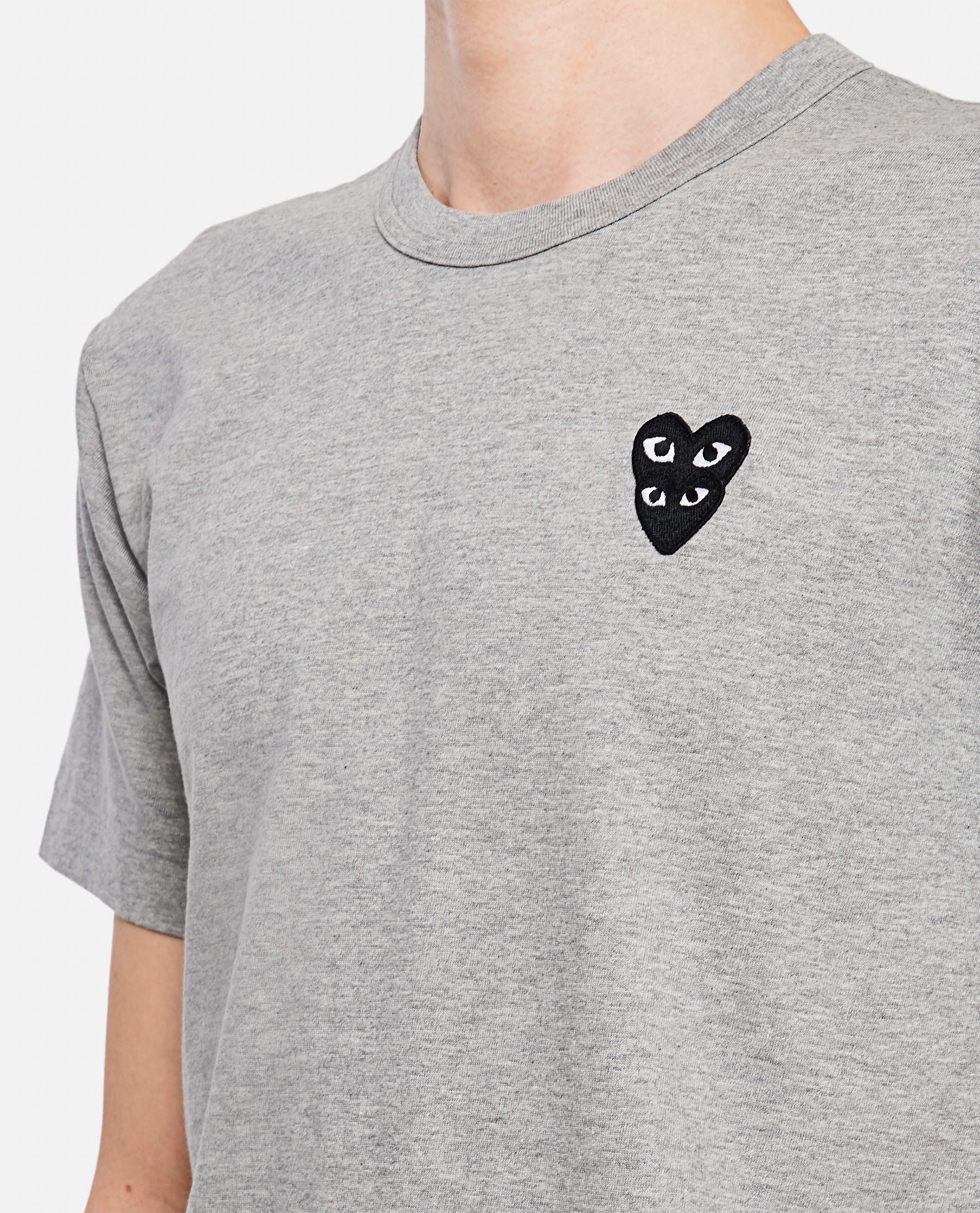 T-shirt with hearts Men Comme des Garcons Play 000267350039449 4