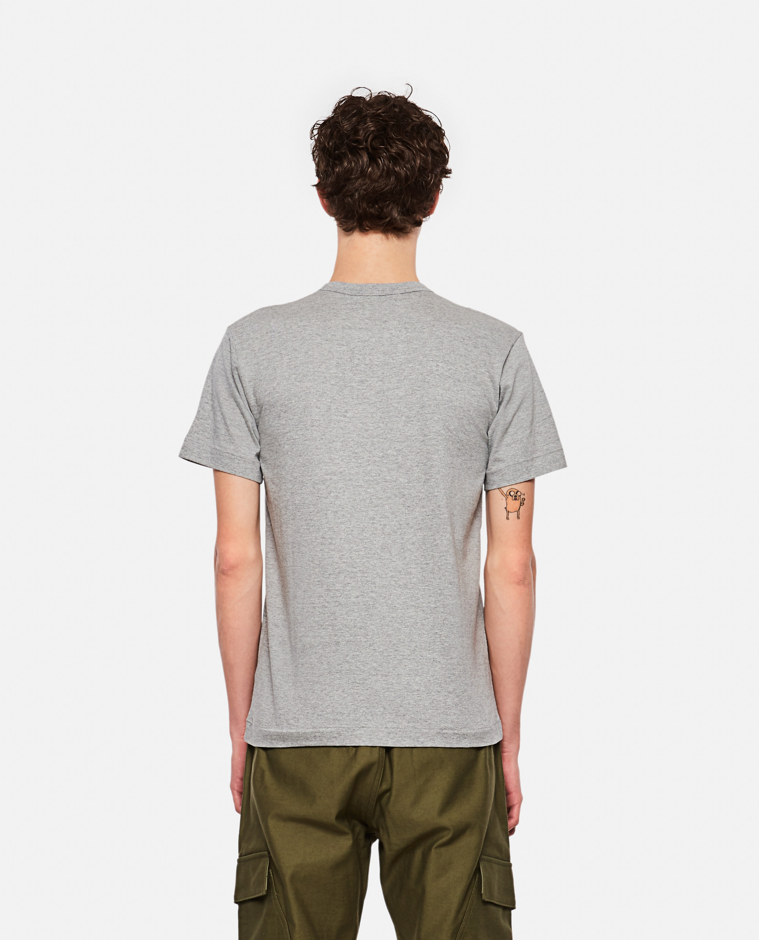 T-shirt with hearts Men Comme des Garcons Play 000267350039449 3