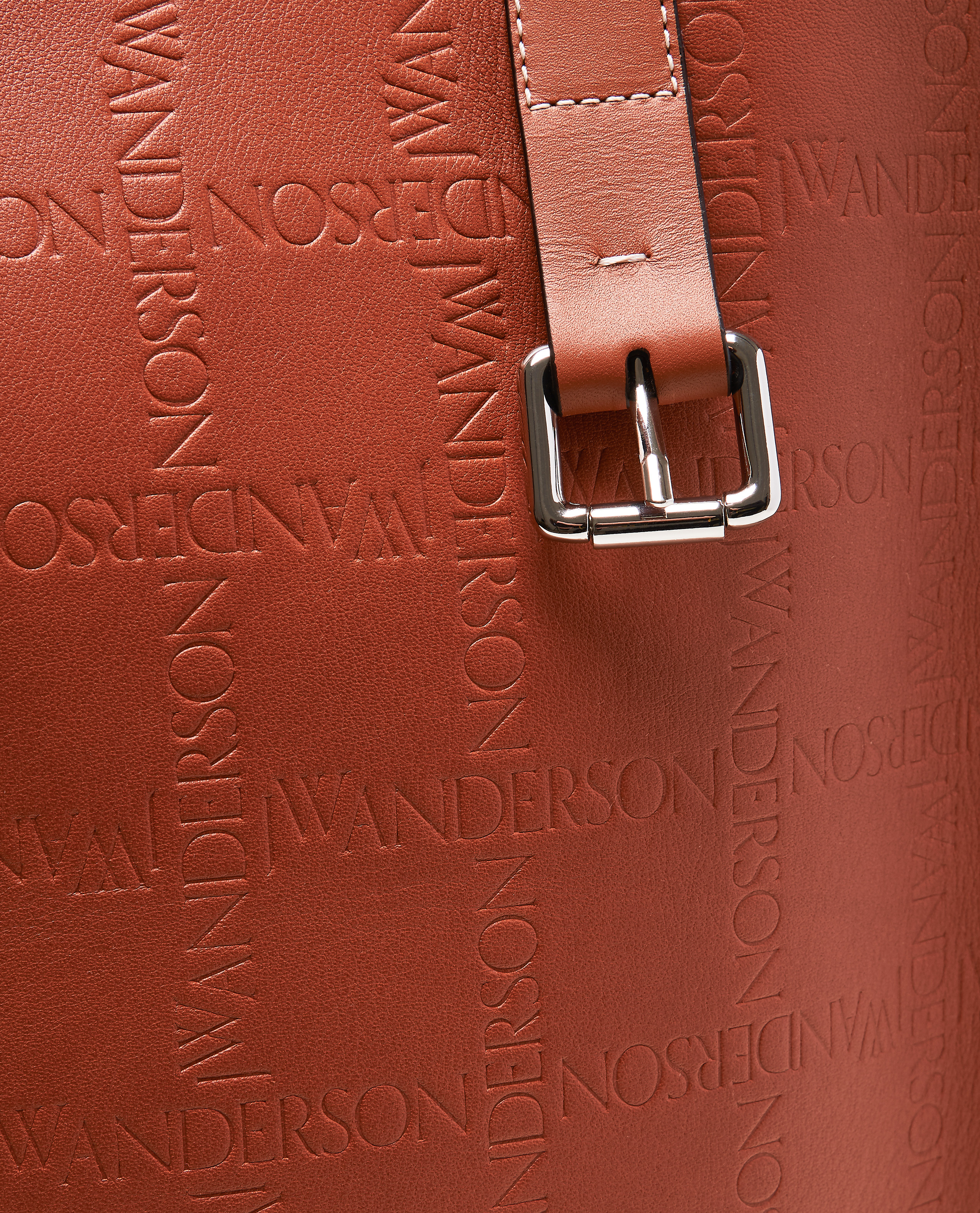 Tote bag with embossed logo Men J.W. Anderson 000293300043195 3
