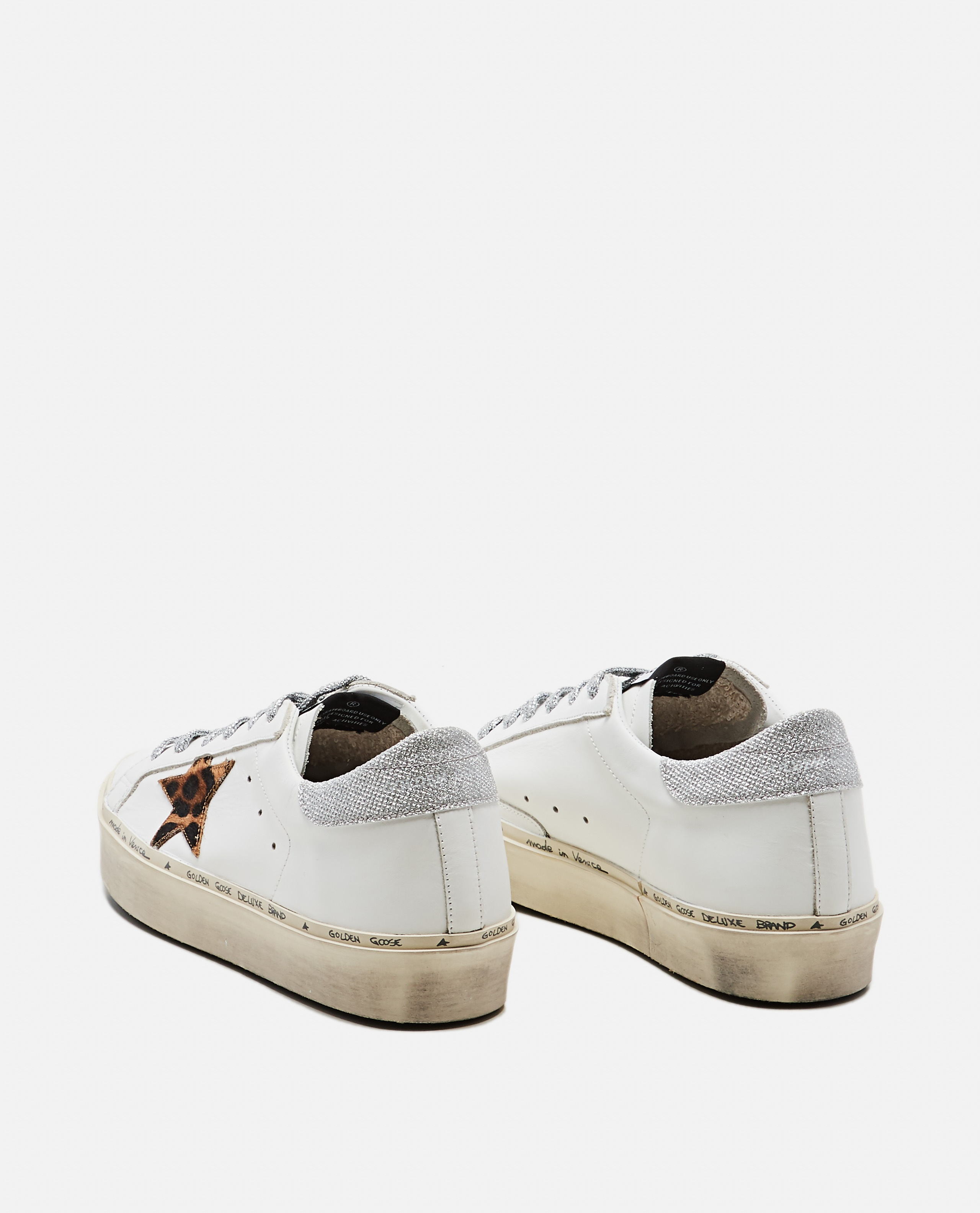 White and animalier Hi Star sneaker Women Golden Goose 000215620031982 3
