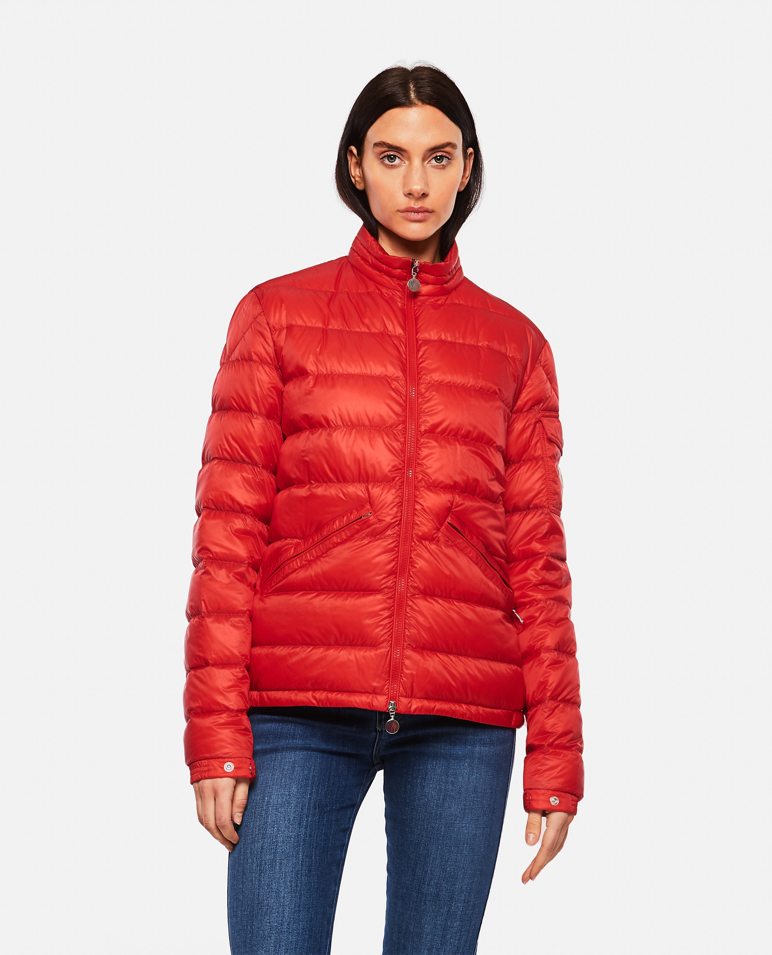 Lightweight quilted nylon Longue Saison AGAY down jacket  Men Moncler 000221870032840 1