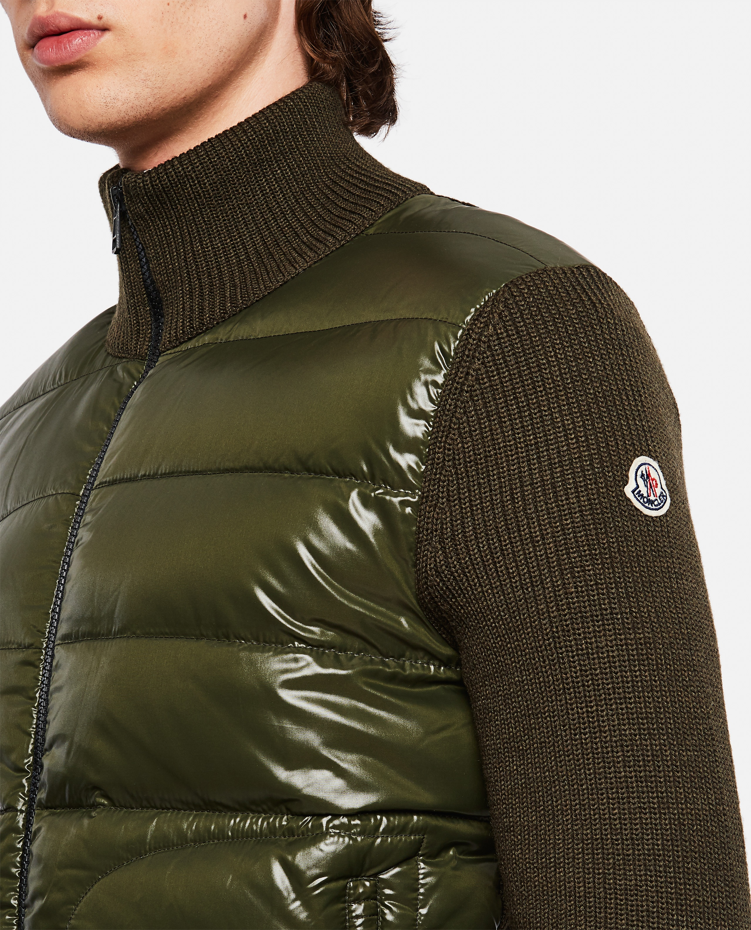 Sweater with padded detail Men Moncler 000271680040024 4