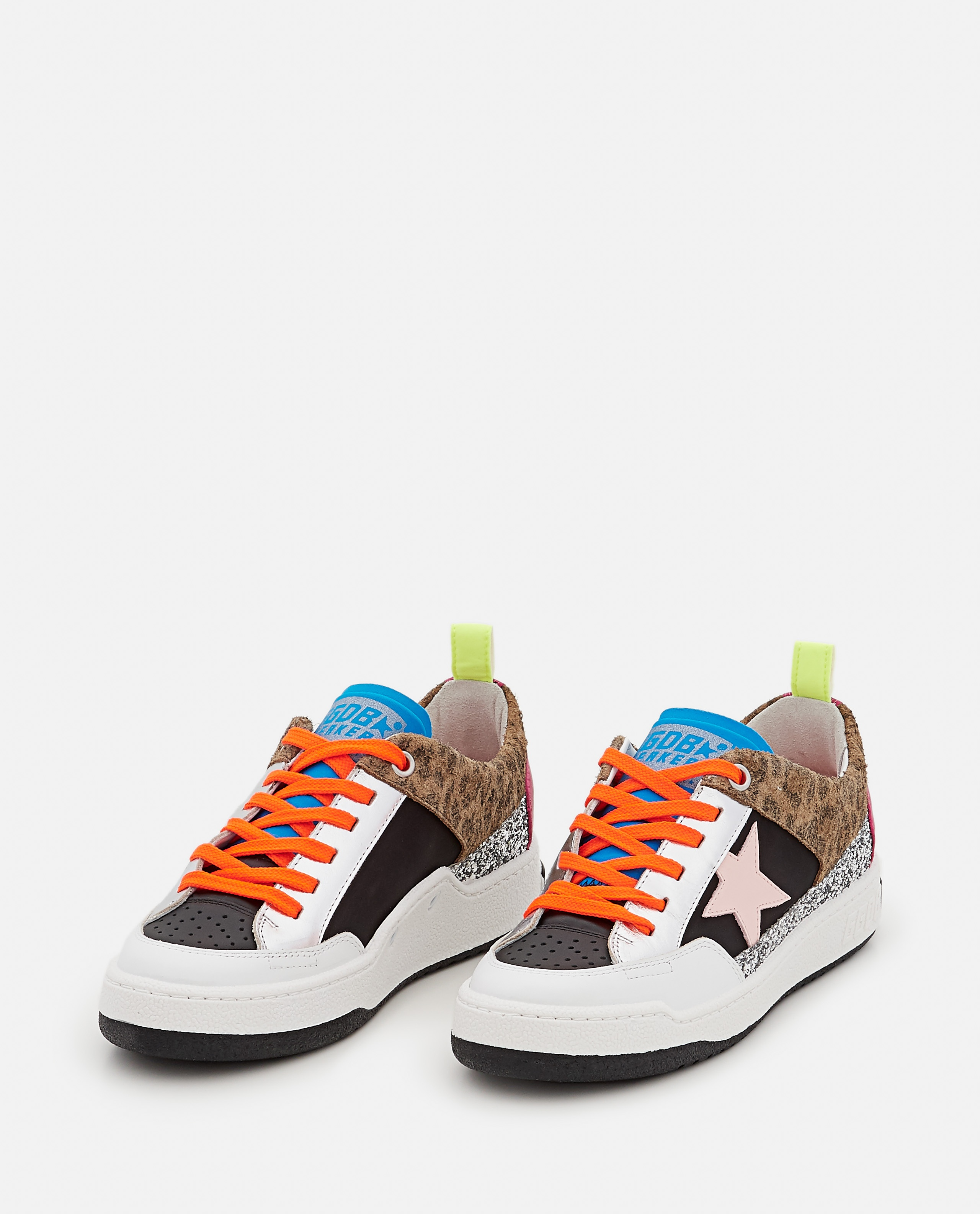 YEAH NYLON AND LEATHER SNEAKERS  Women Golden Goose 000322380047133 2