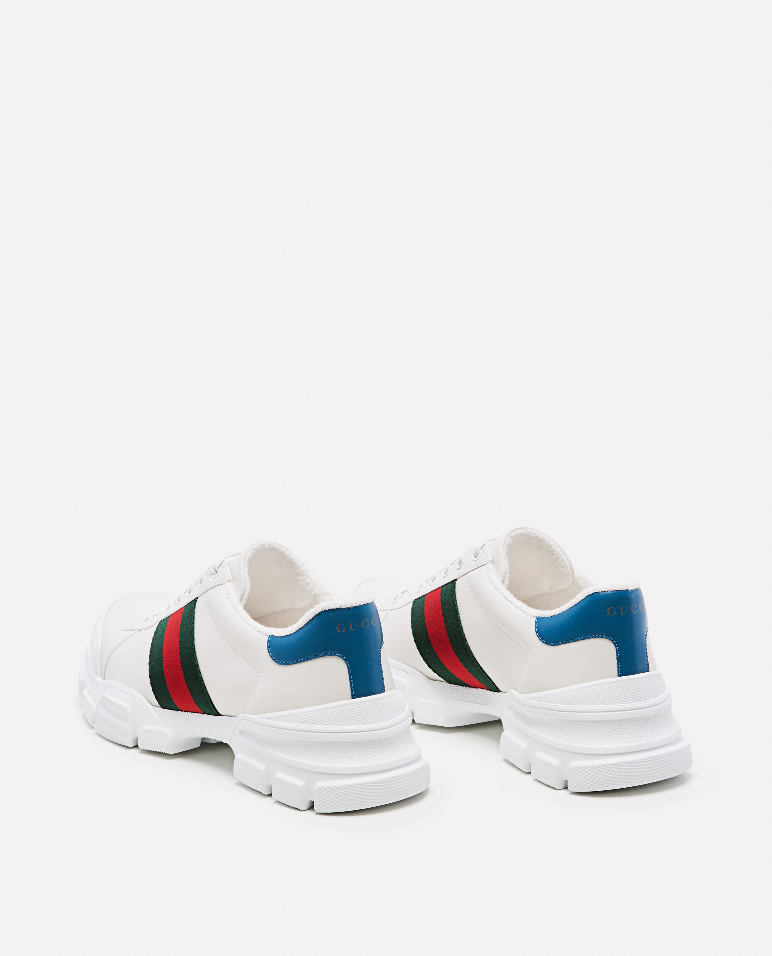 Sneaker with Web tape Men Gucci 000267880039516 3