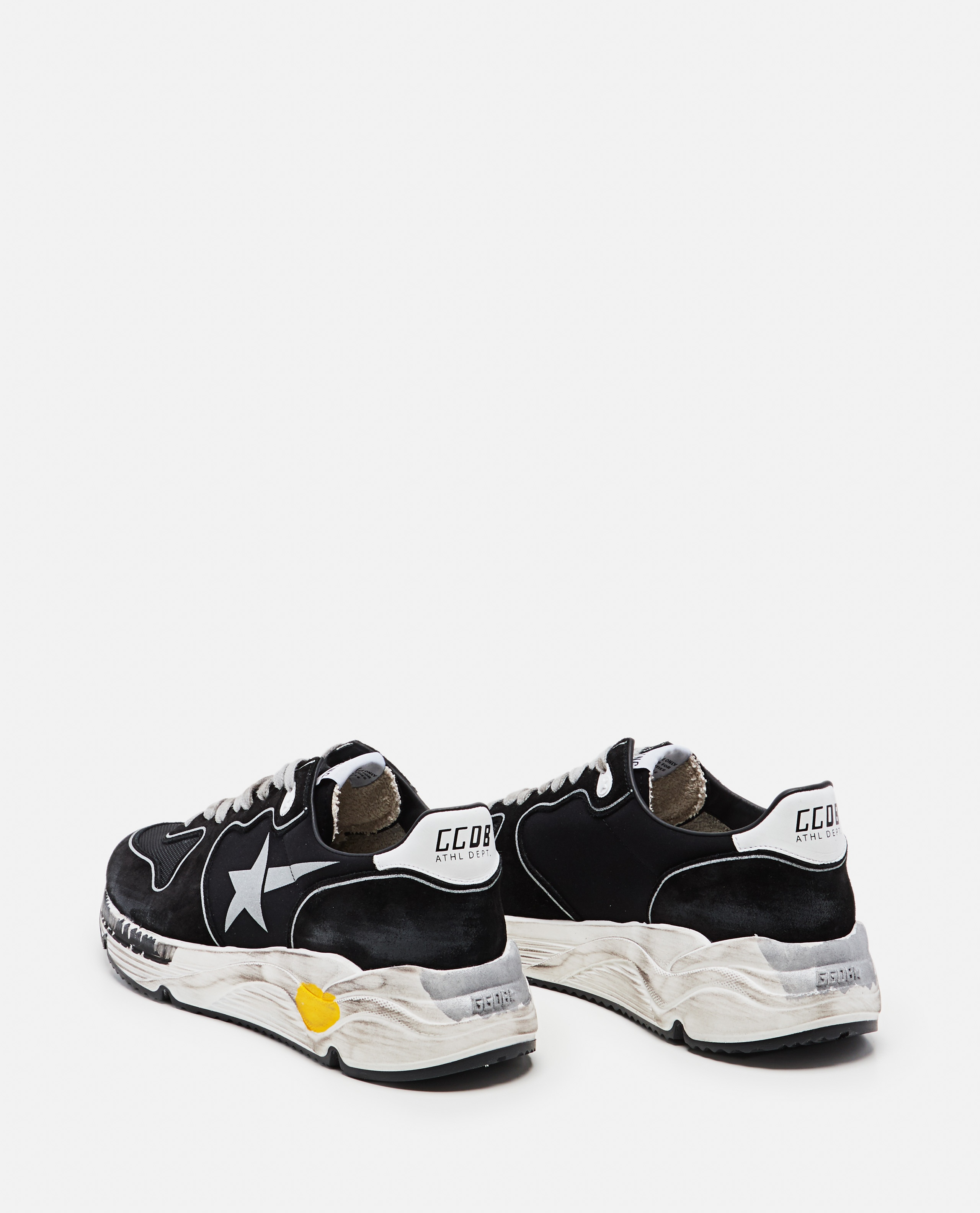 Mesh suede and leather Running sole sneakers Men Golden Goose 000292250043031 3