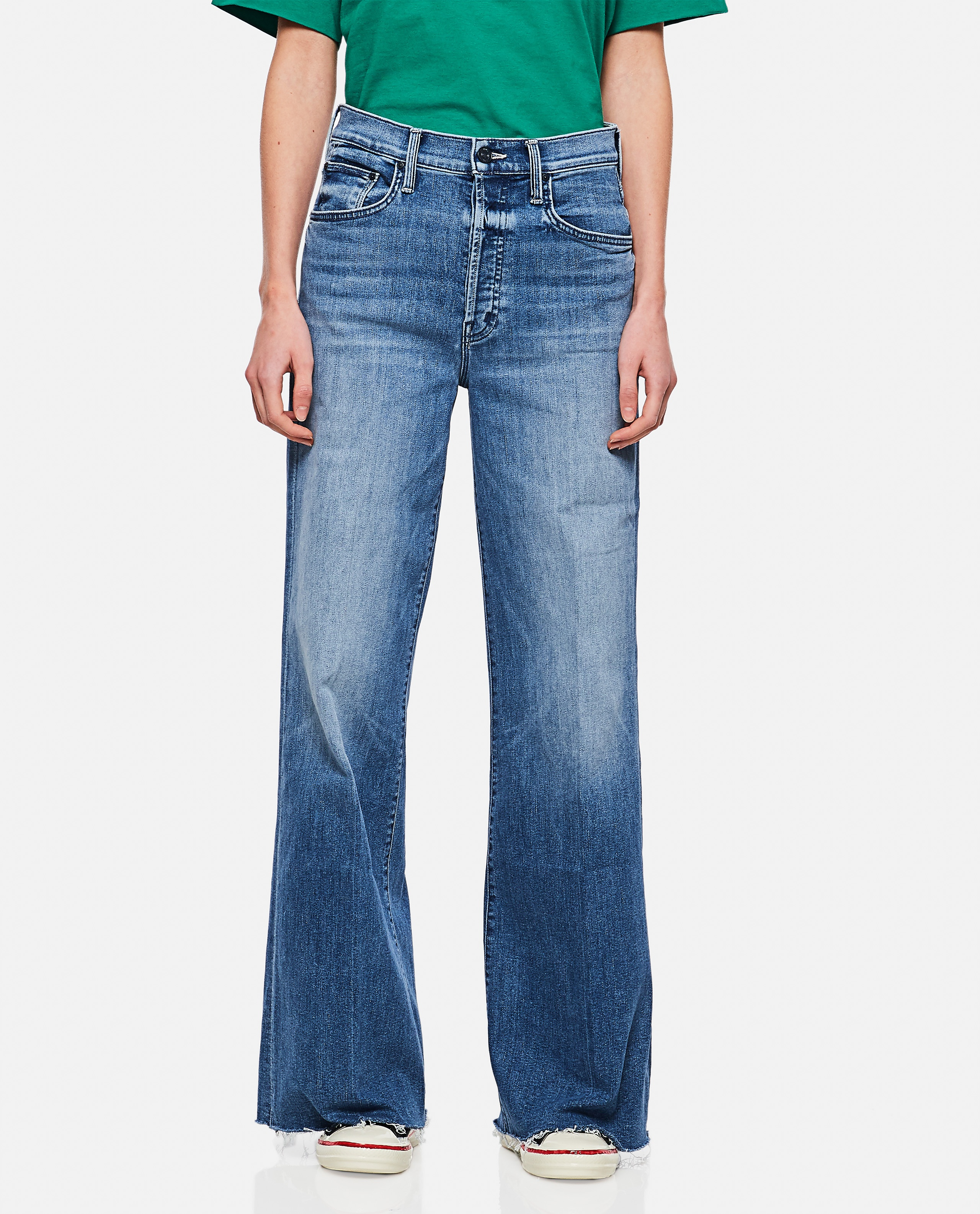"""""""The Tomcat Roller Fray"""" Jeans Donna Mother 000289930042707 1"""