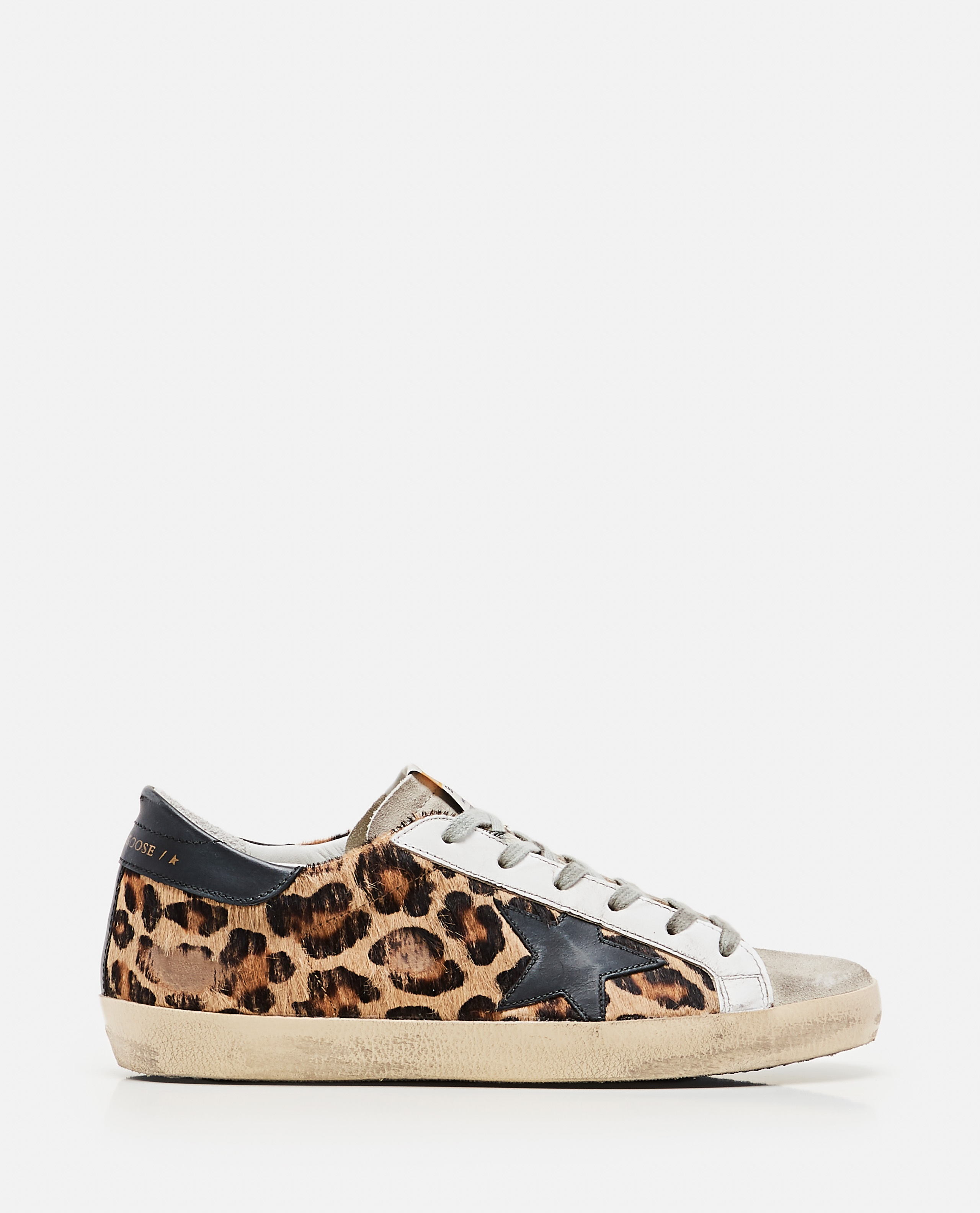 Superstar classic Golden Goose sneakers in spotted pony skin Donna Golden Goose 000286810042304 1