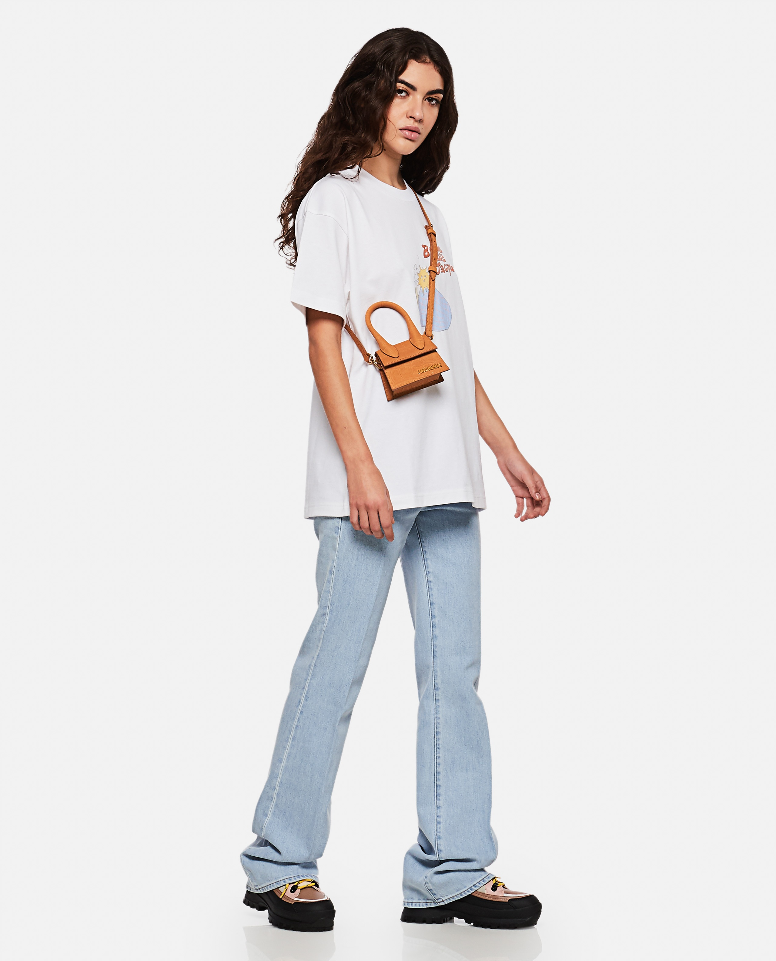 On y va Jacques t-shirt Women Jacquemus 000262690038863 2