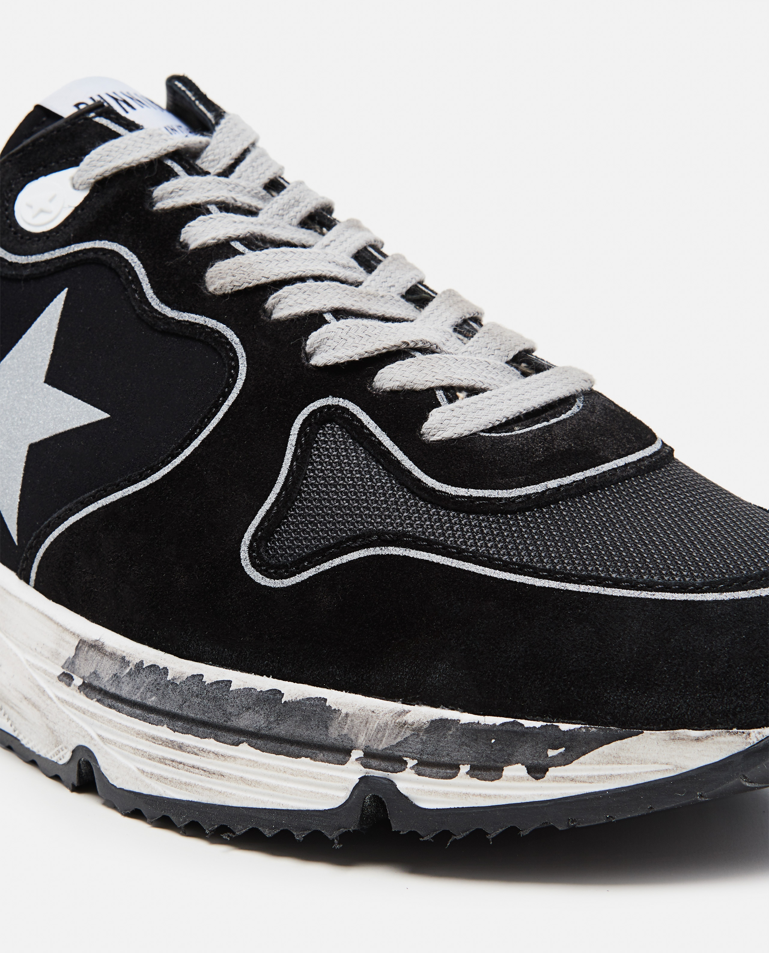 Mesh suede and leather Running sole sneakers Men Golden Goose 000292250043031 4