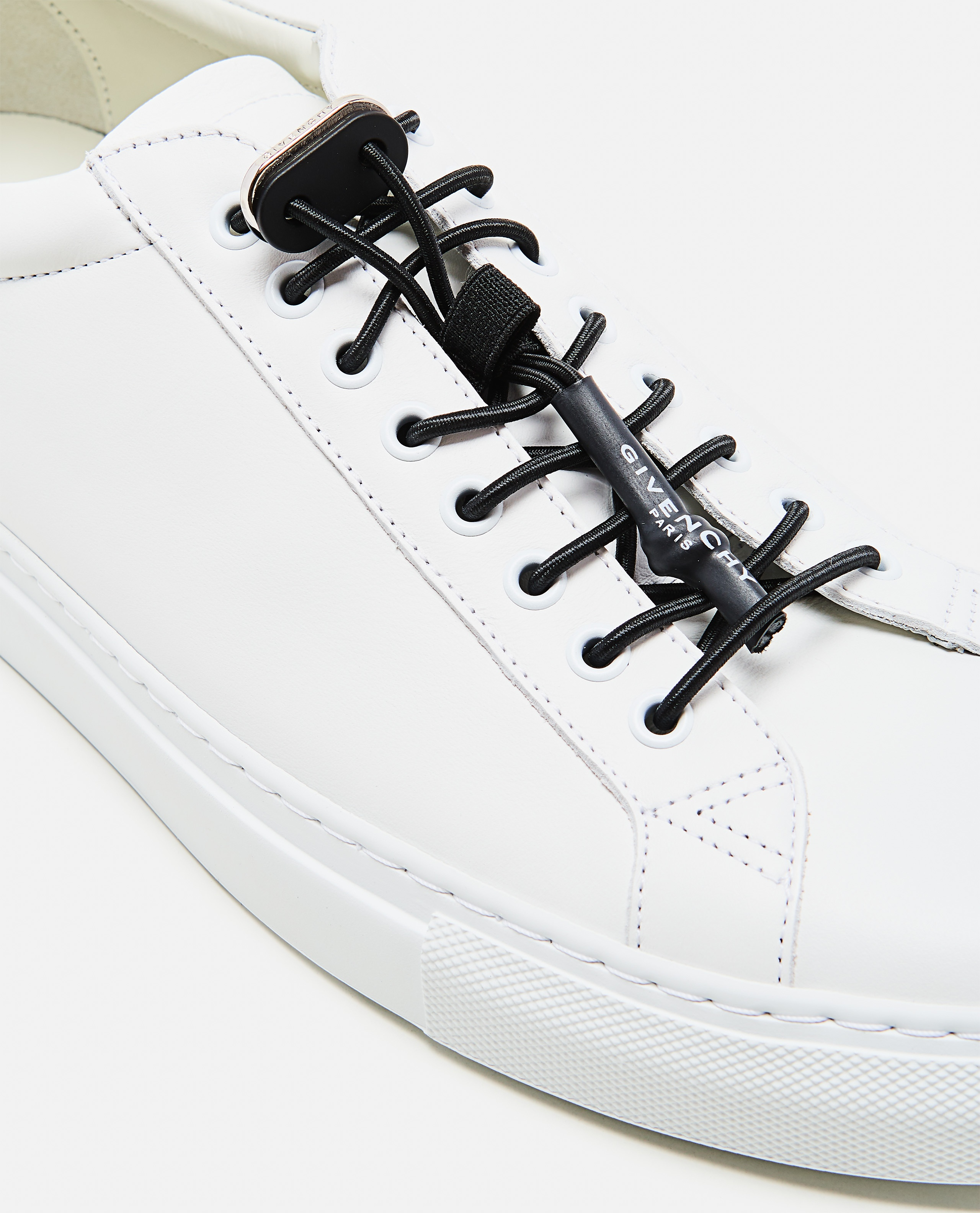 MATT LEATHER SNEAKERS WITH SPORTY LACES Men Givenchy 000253320037421 4