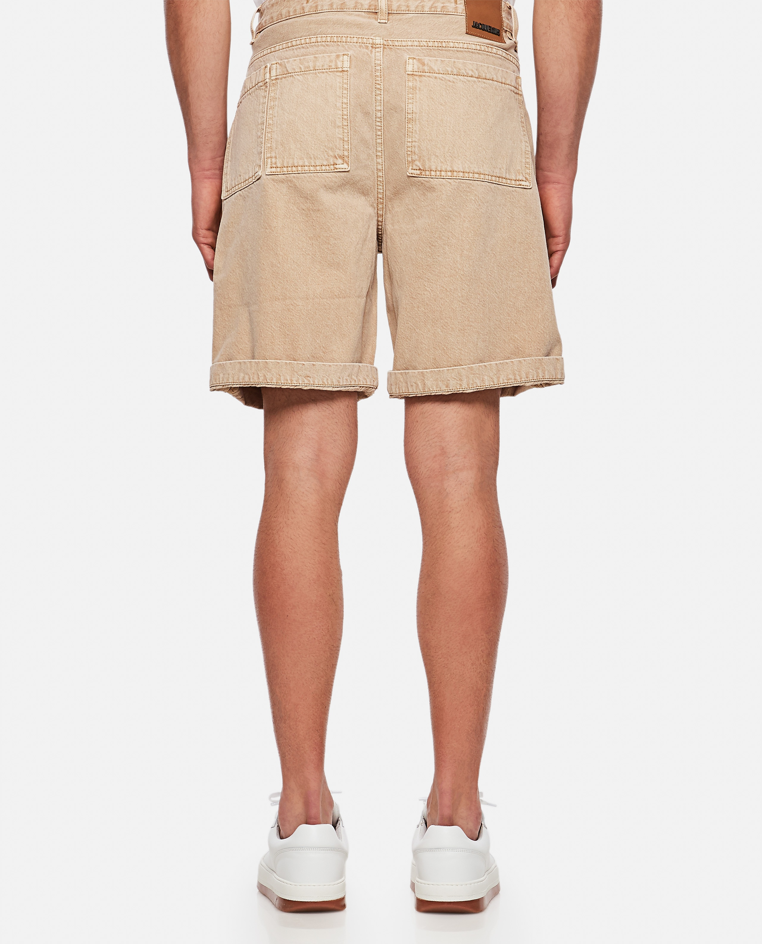Le short de Nîmes Casual denim shorts Men Jacquemus 000293900043260 3