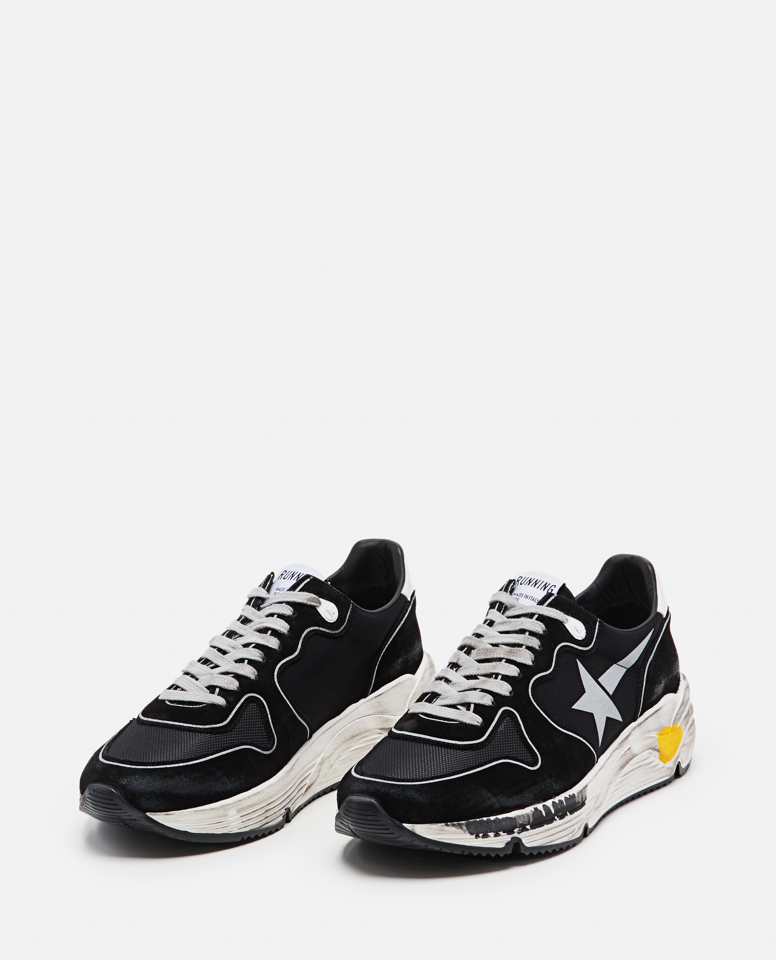 Mesh suede and leather Running sole sneakers Men Golden Goose 000292250043031 2