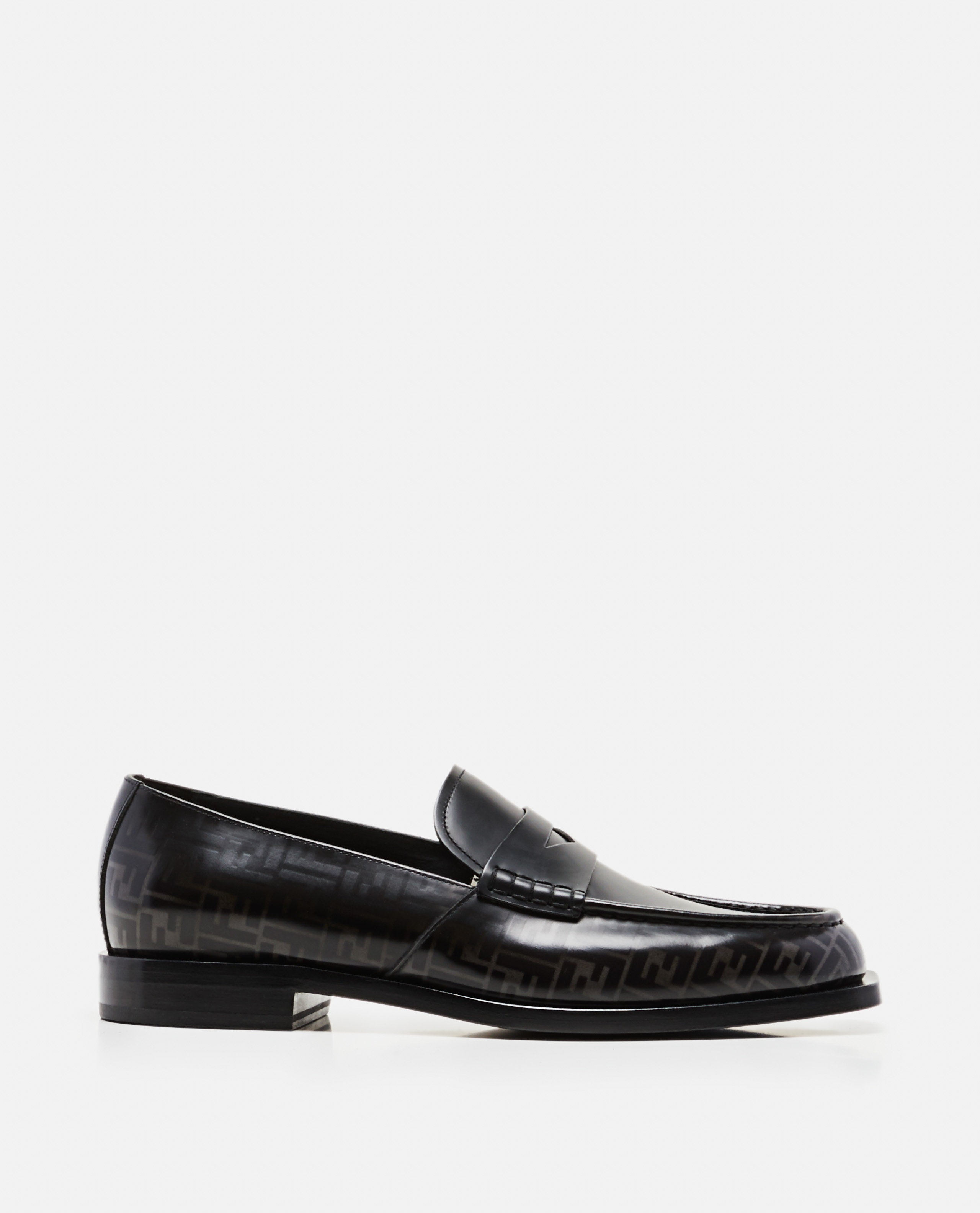 Loafers with FF motif Men Fendi 000220150032575 1