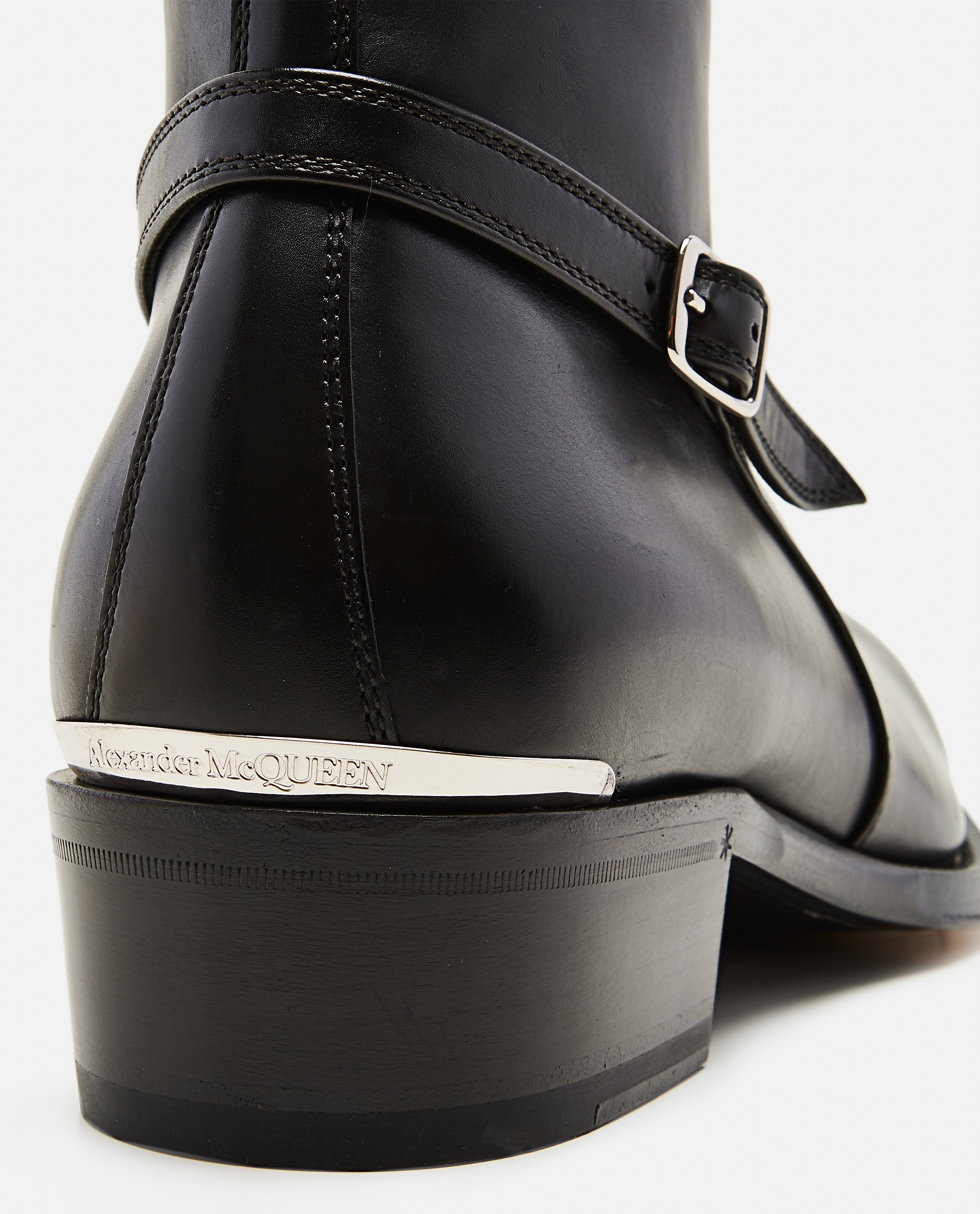 Ankle boots with strap Men Alexander McQueen 000179890026780 4