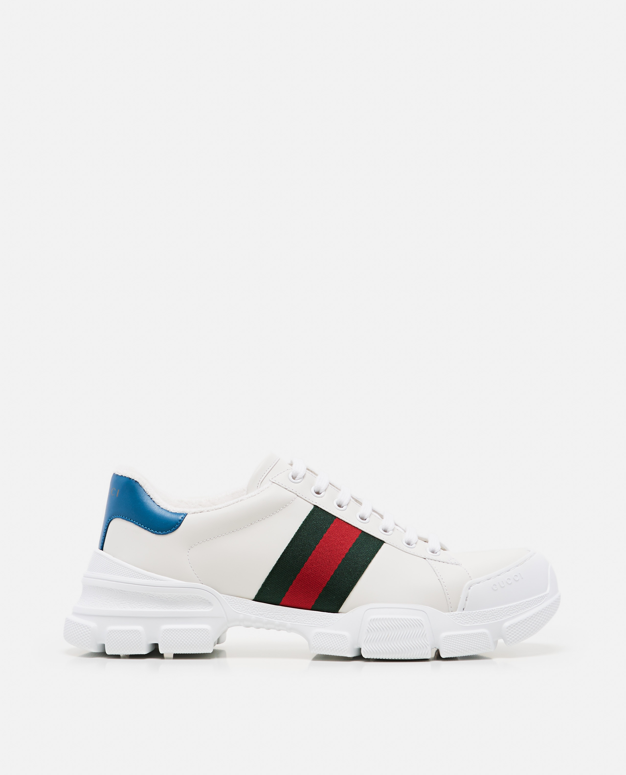 Sneaker with Web tape Men Gucci 000267880039516 1