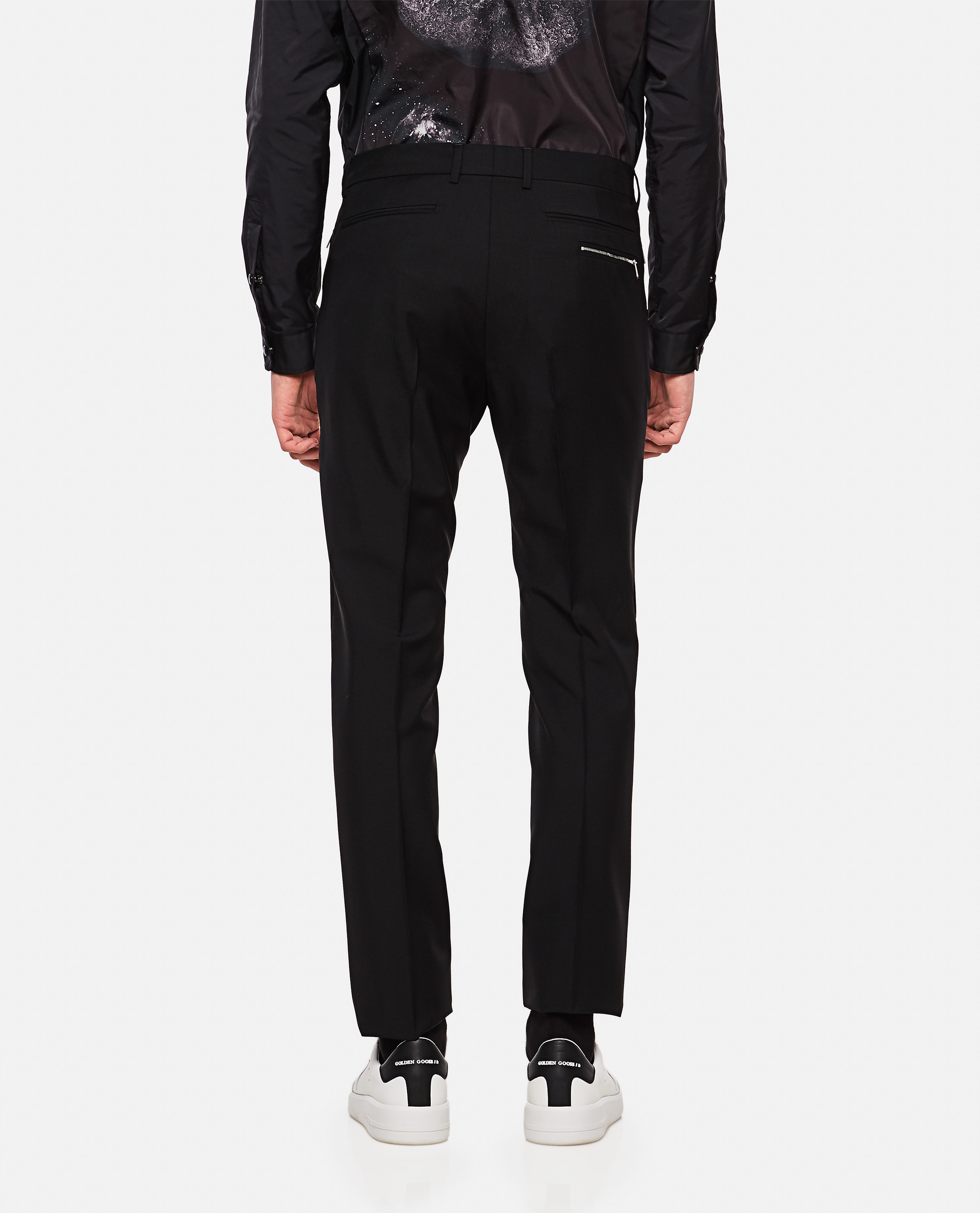 Wool and mohair blend trousers Men Valentino 000218220032338 3