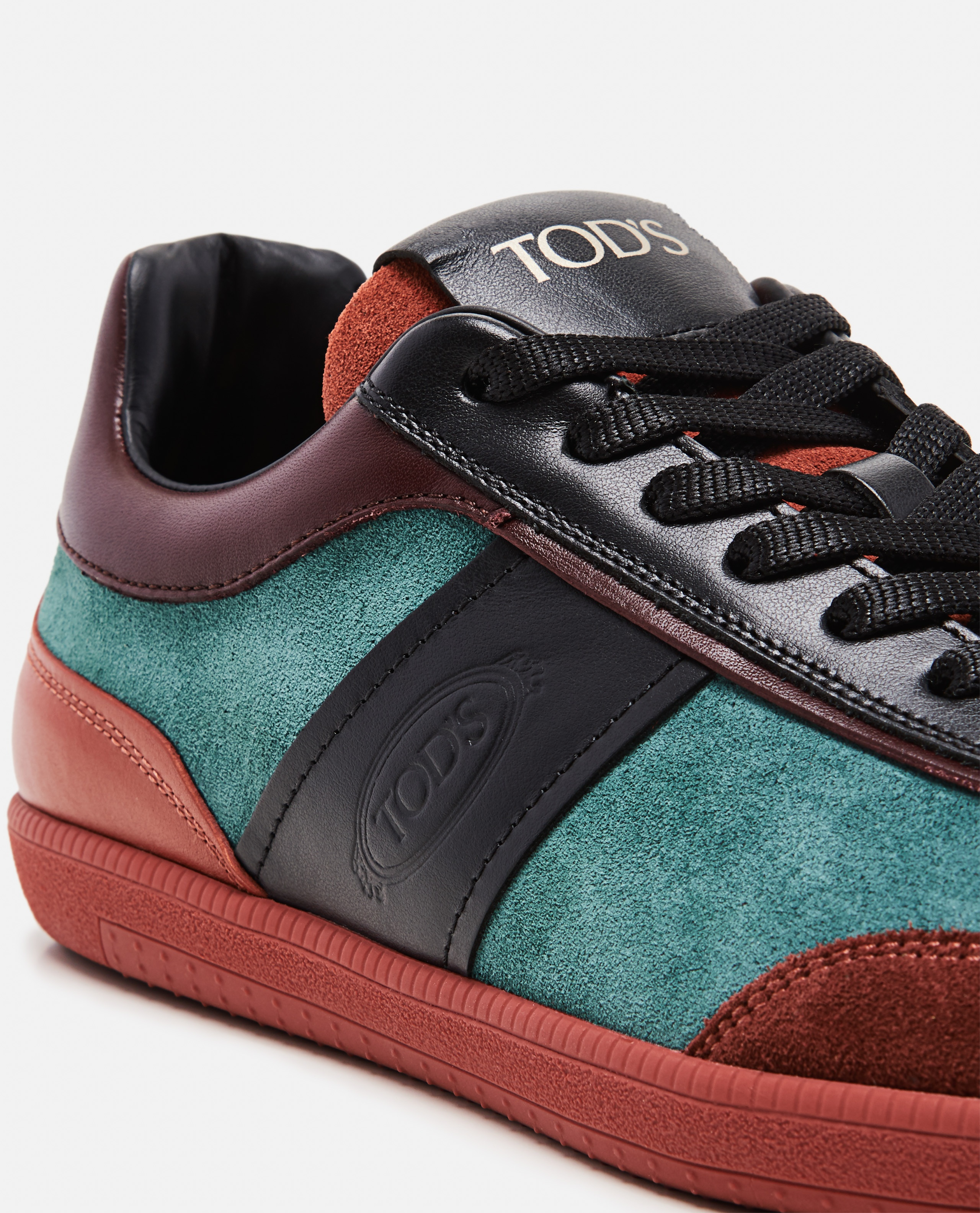 Sneakers in pelle scamosciata Donna Tod's 000274540040422 4