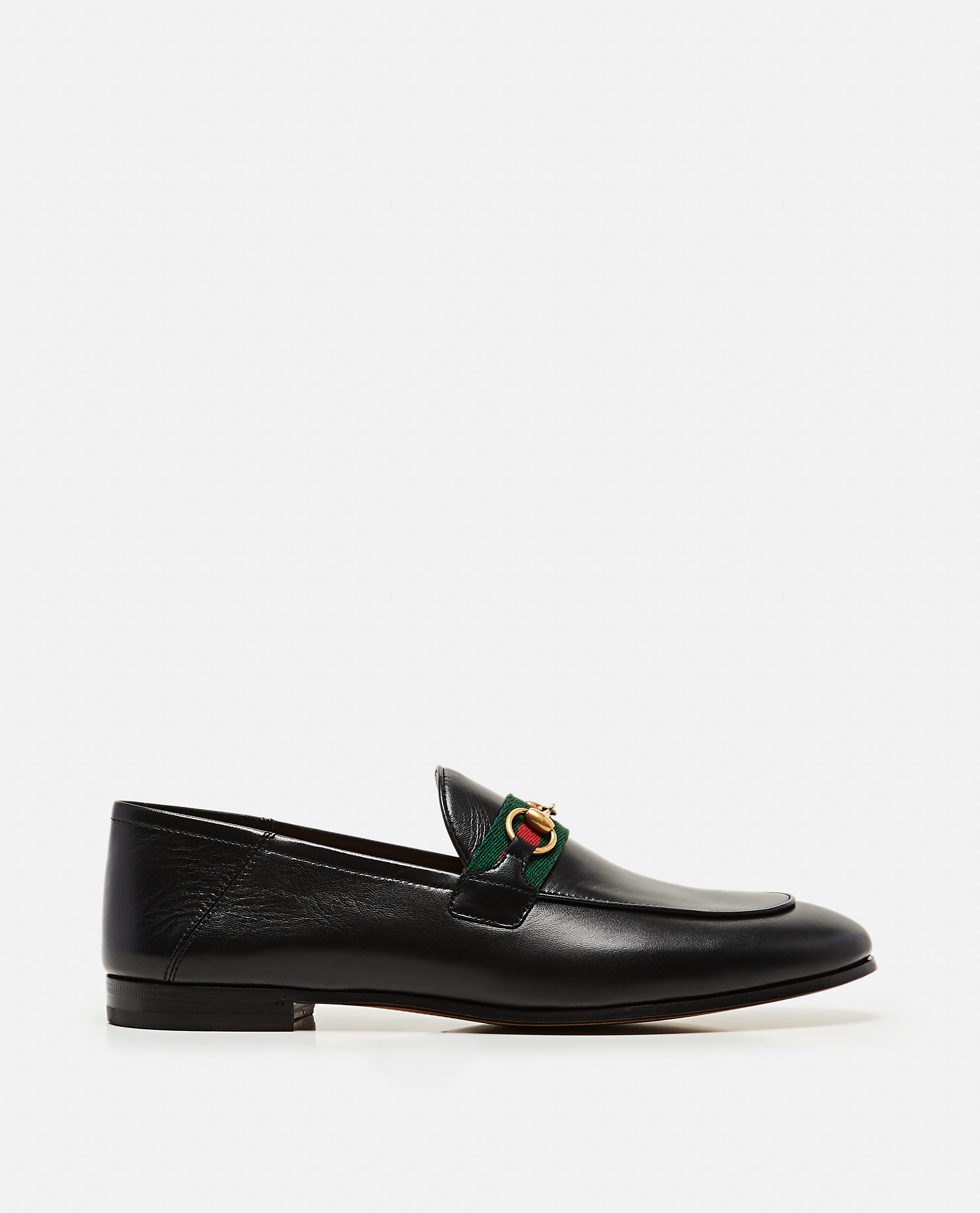 Moccasin with Web ribbon Women Gucci 000259340038369 1