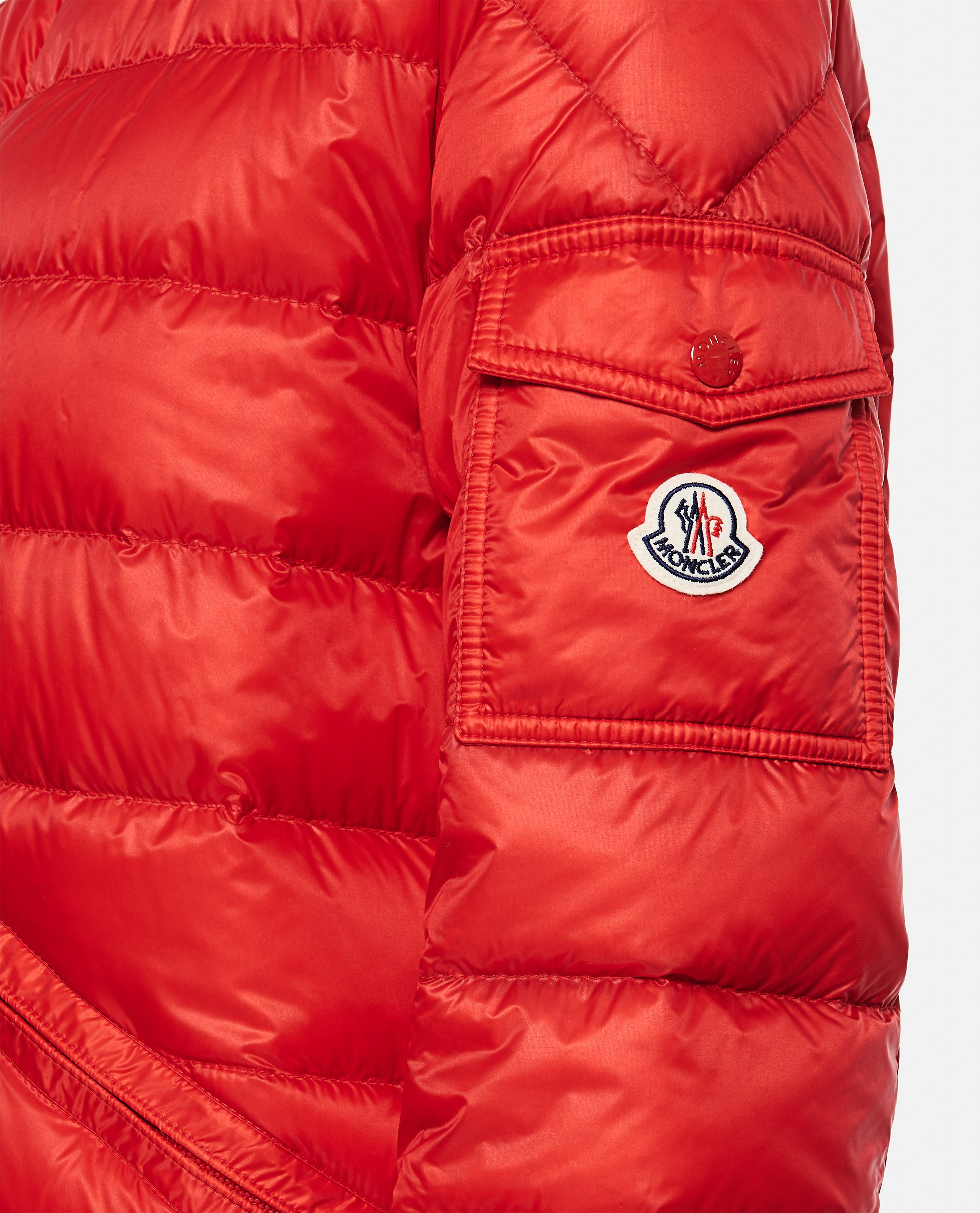 Lightweight quilted nylon Longue Saison AGAY down jacket  Men Moncler 000221870032840 4