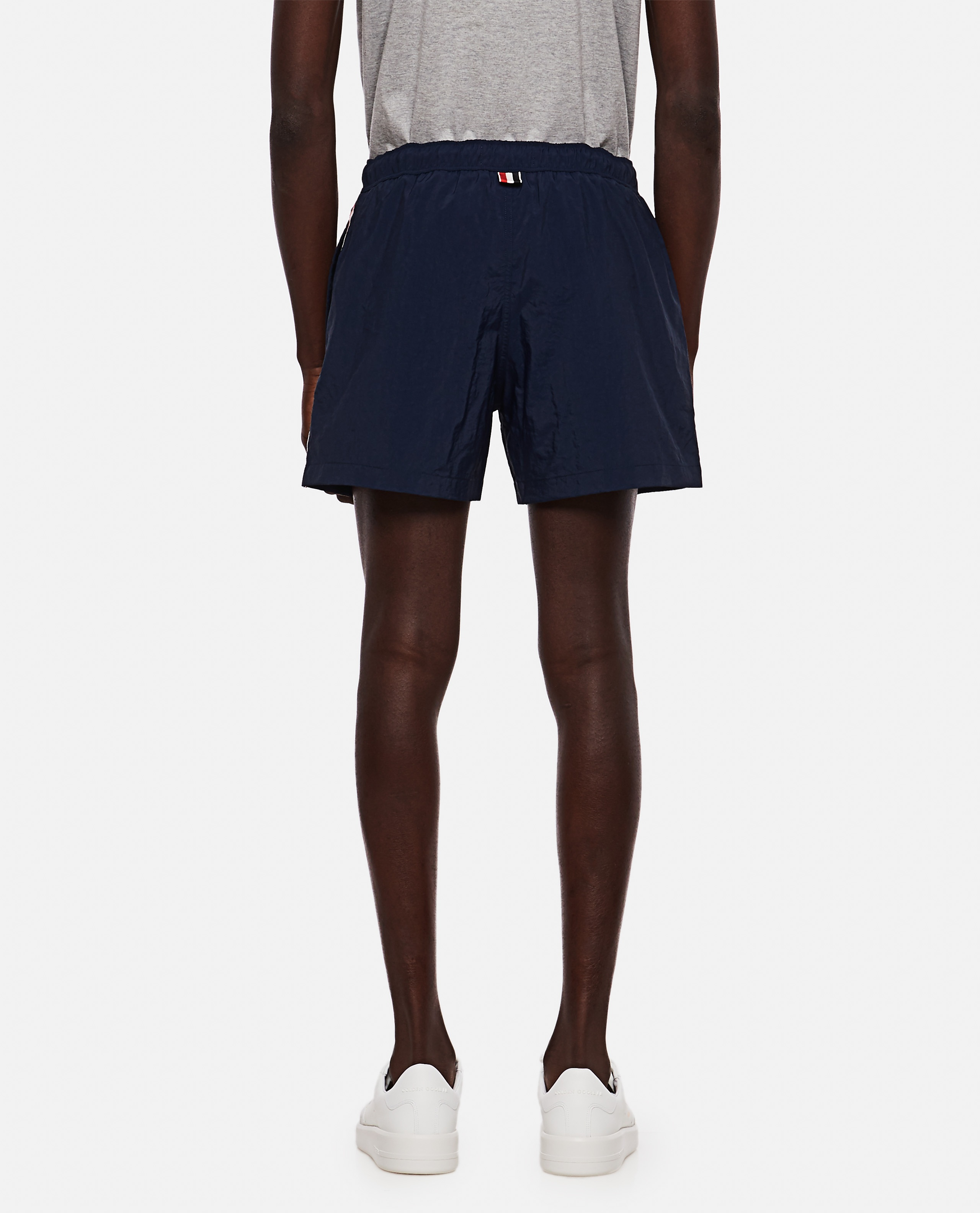 Thom Browne boxer costume in nylon with logo Men Thom Browne 000294780043363 3