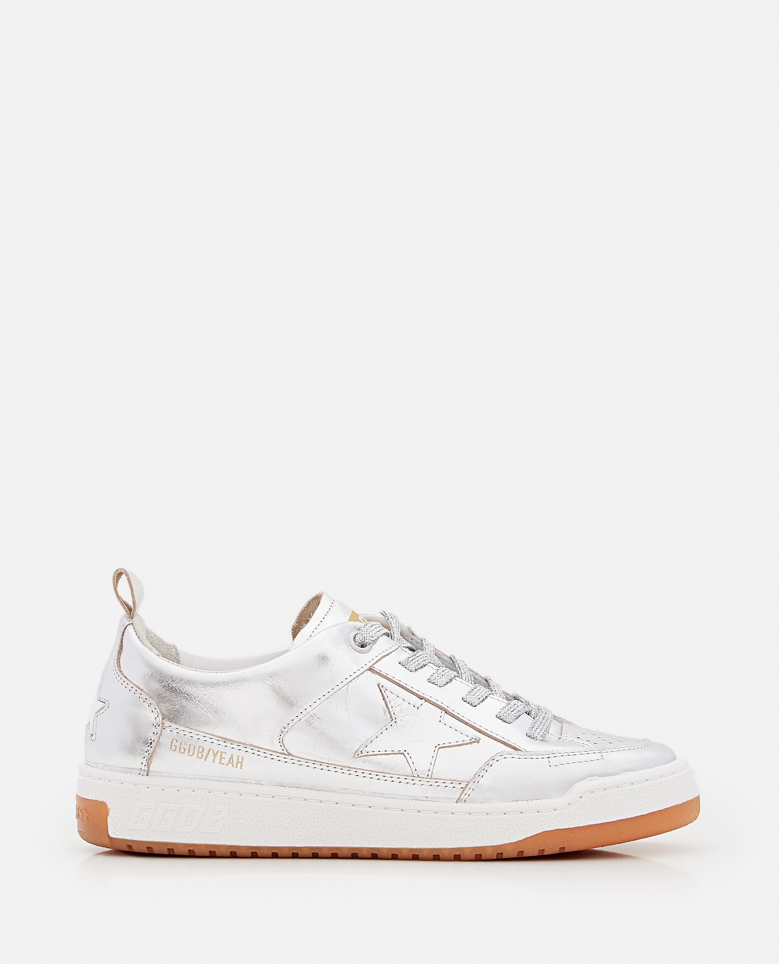 YEAH LAMINATED LEATHER SNEAKERS Women Golden Goose 000322260047121 1