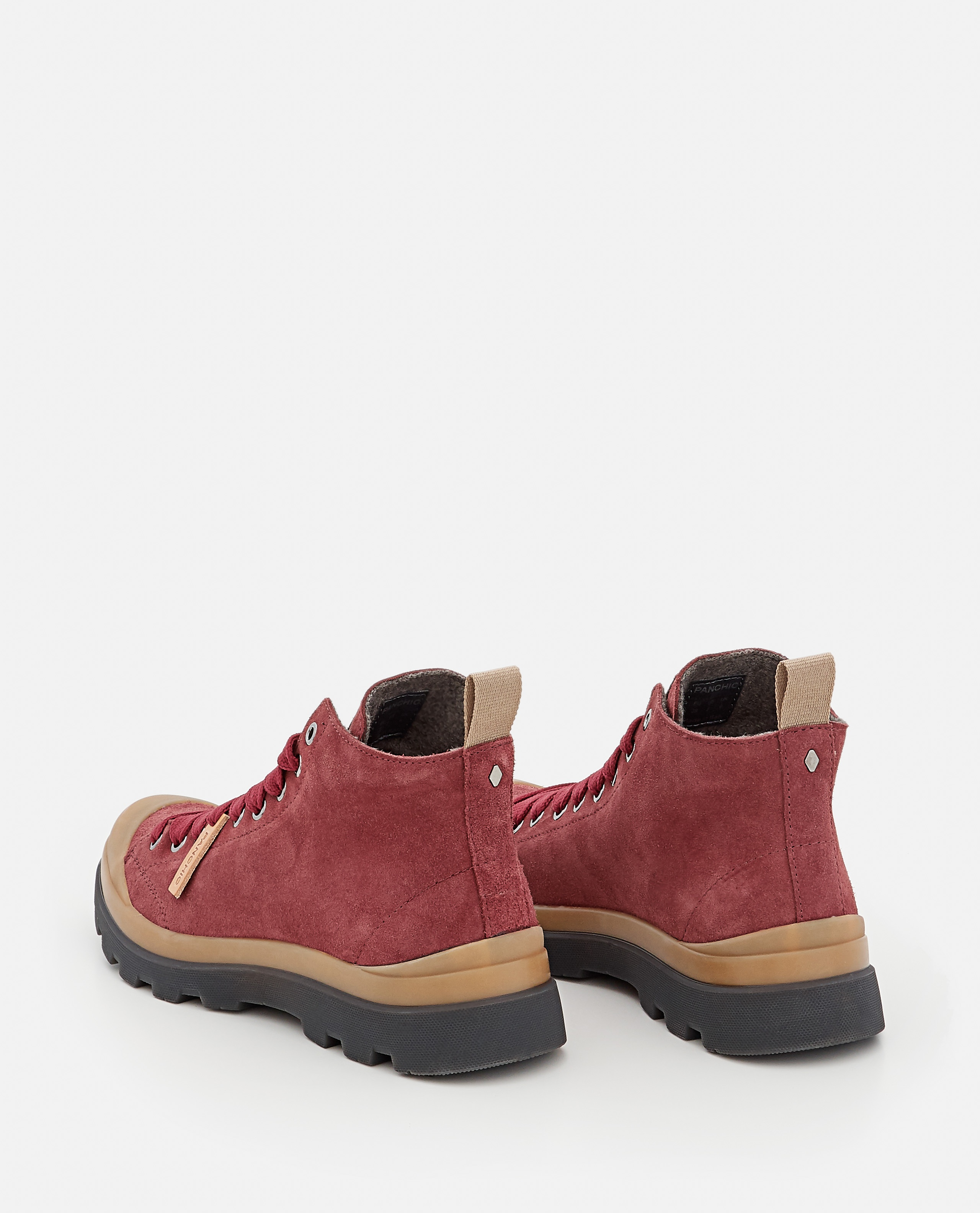 P03 SUEDE ANKLE BOOTS Women Panchic 000350250050963 3