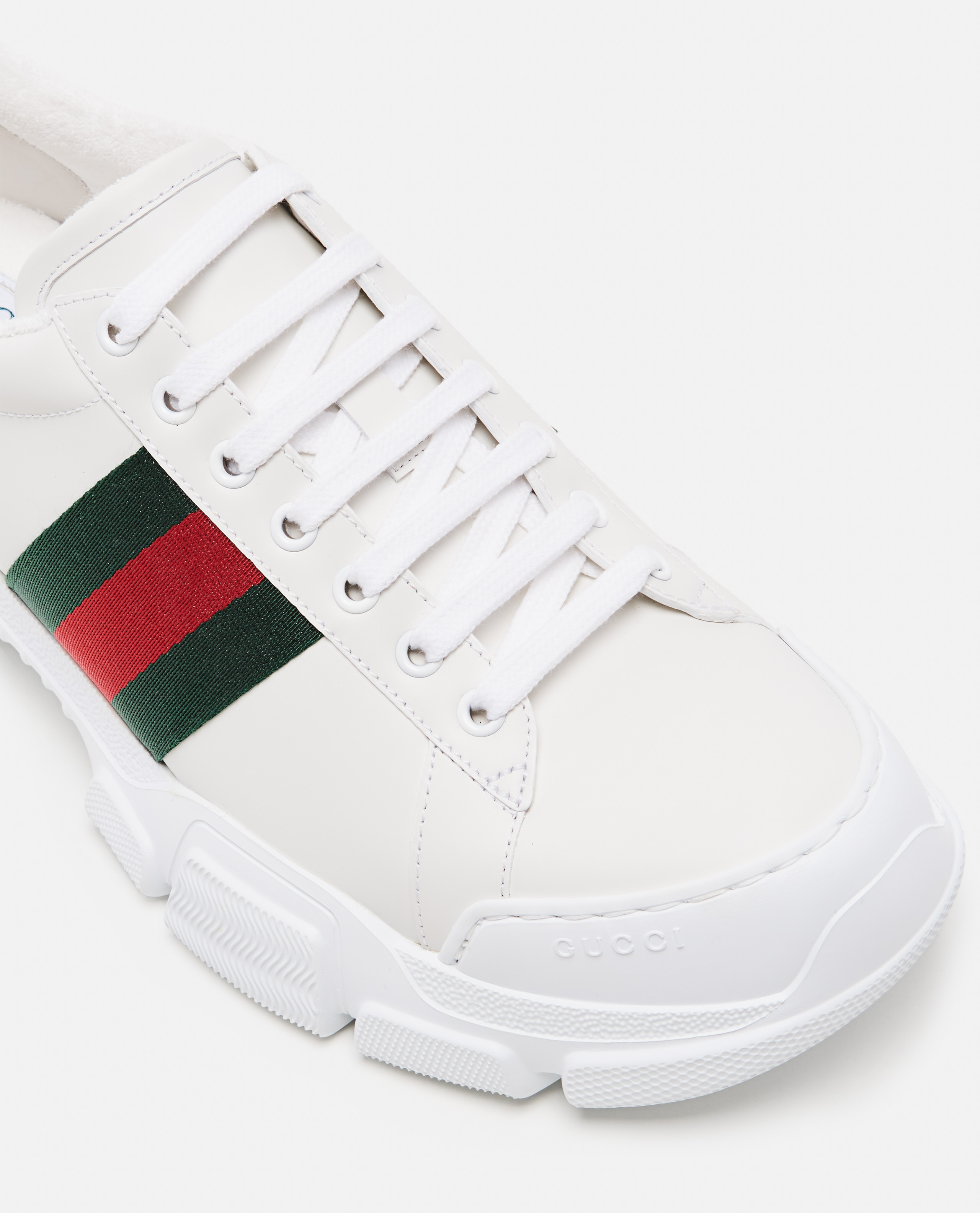 Sneaker with Web tape Men Gucci 000267880039516 4