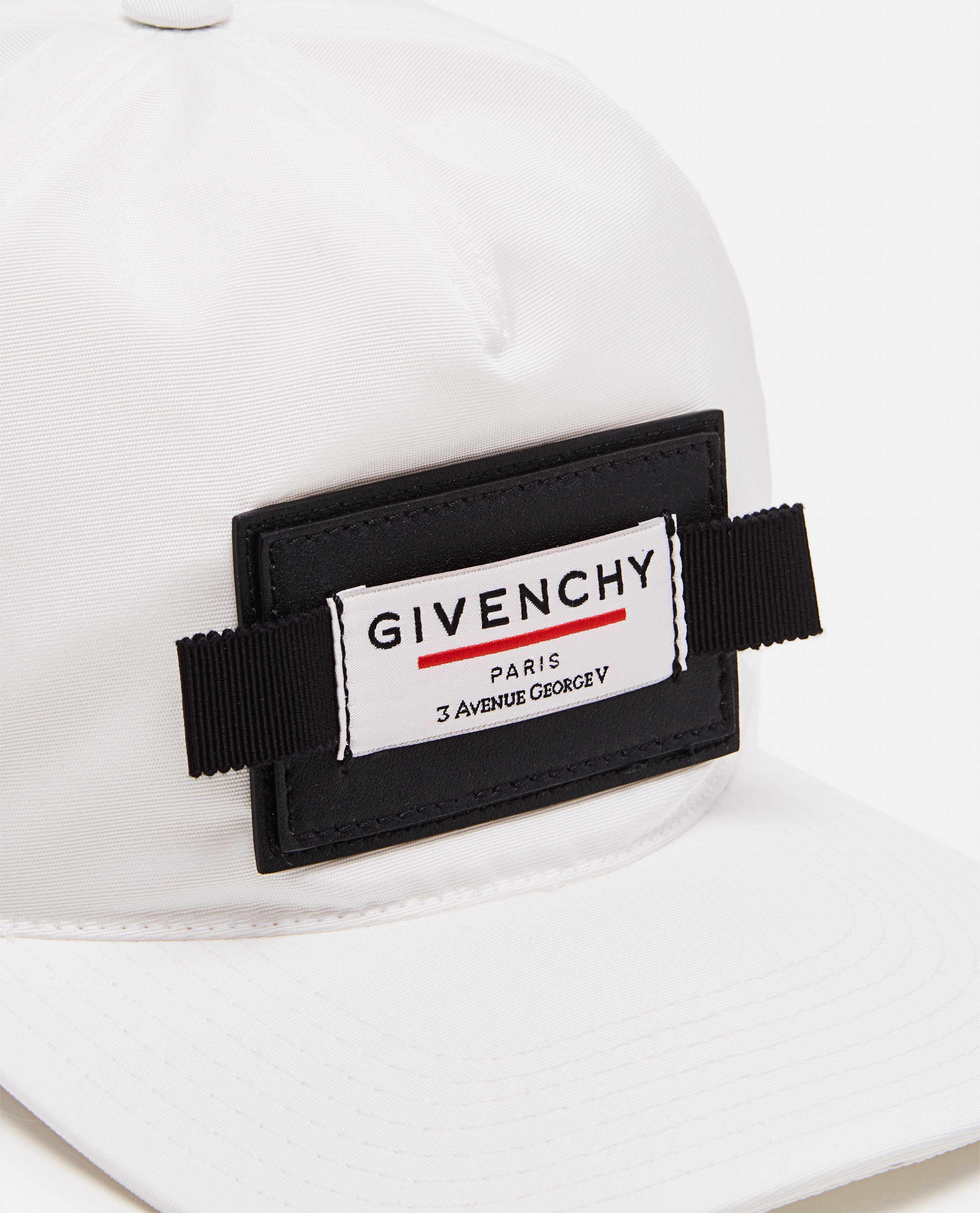 Cap with curved nylon visor  Men Givenchy 000226120033444 2