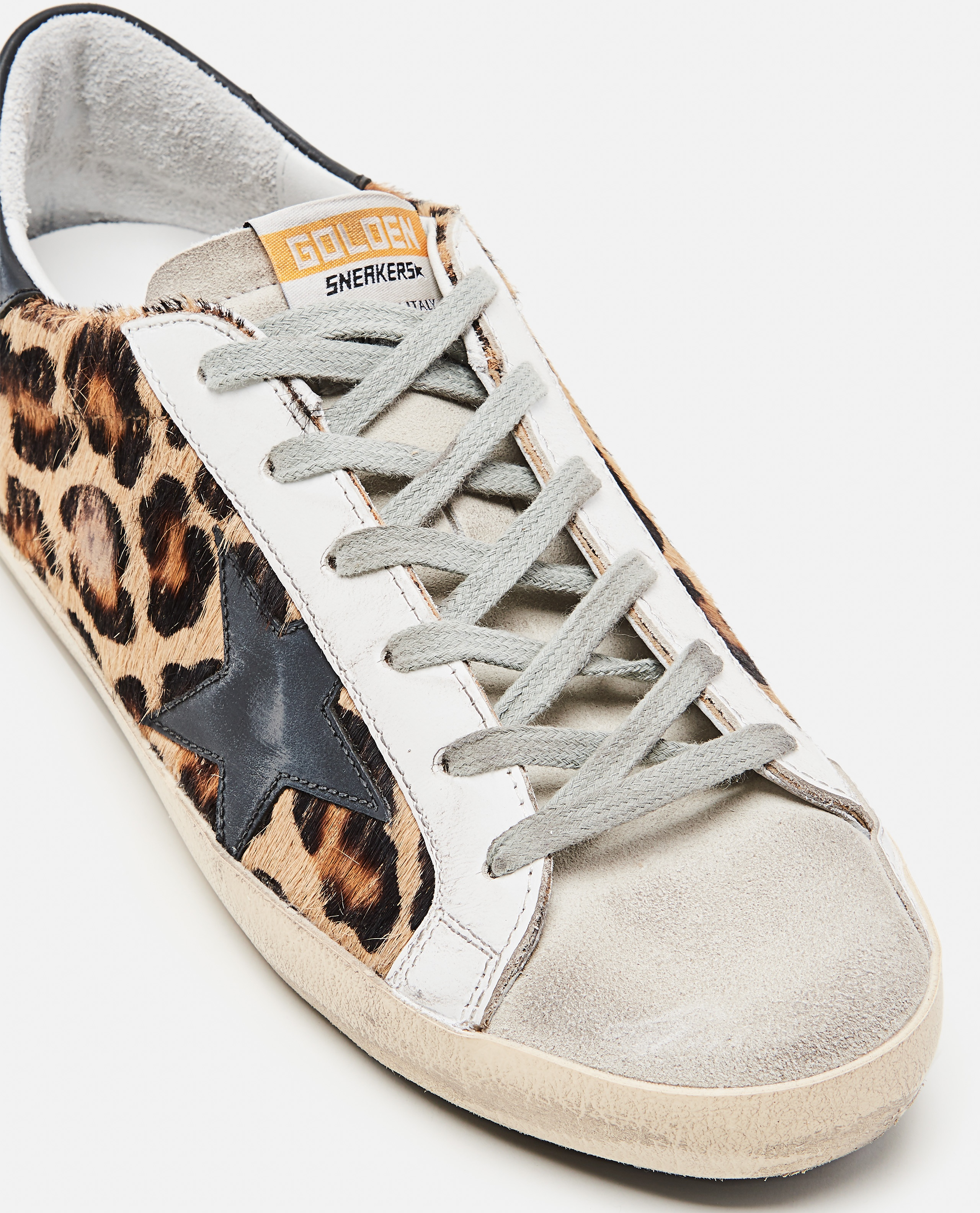 Superstar classic Golden Goose sneakers in spotted pony skin Donna Golden Goose 000286810042304 4