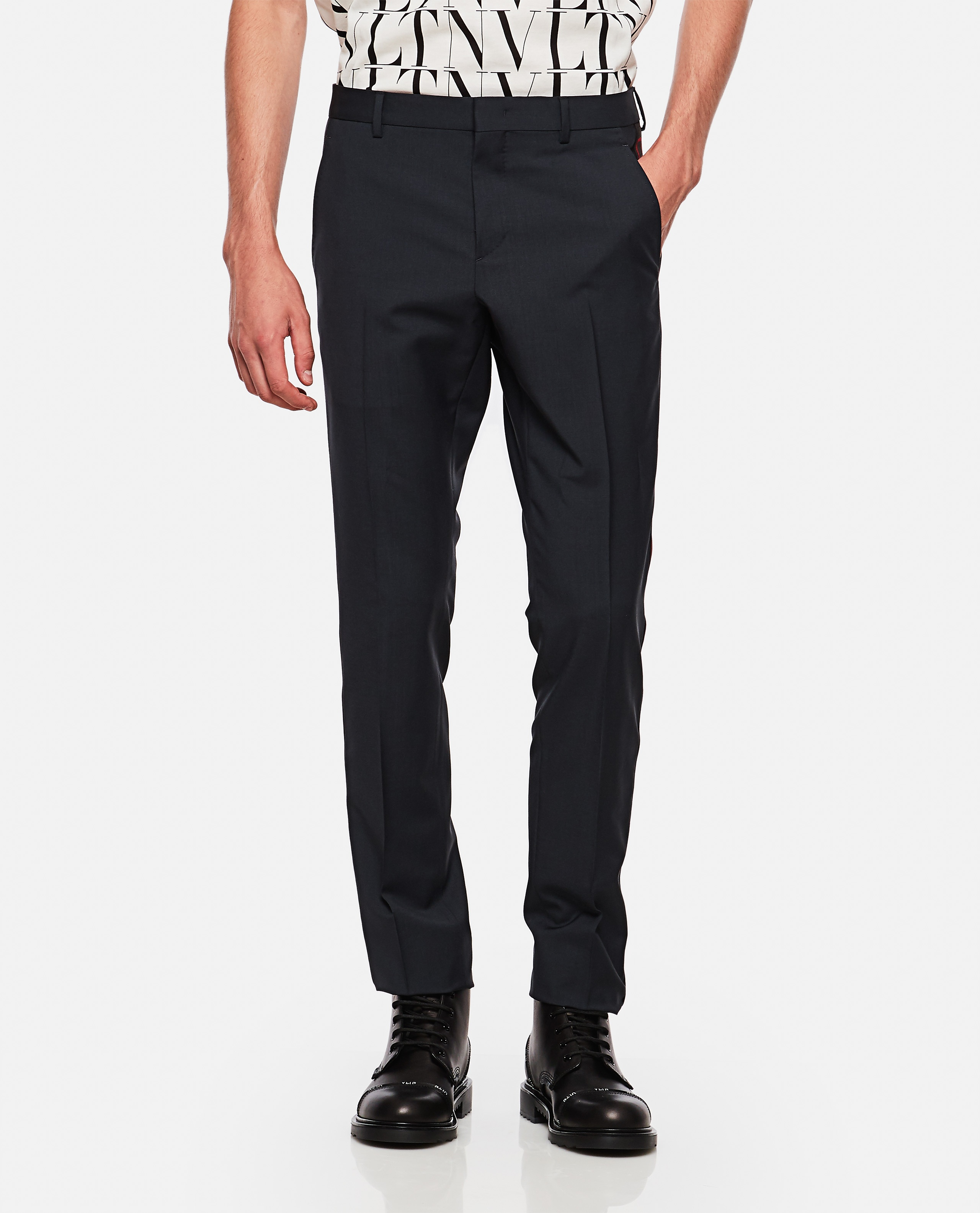 Slim fit trousers Men Valentino 000263490038956 1
