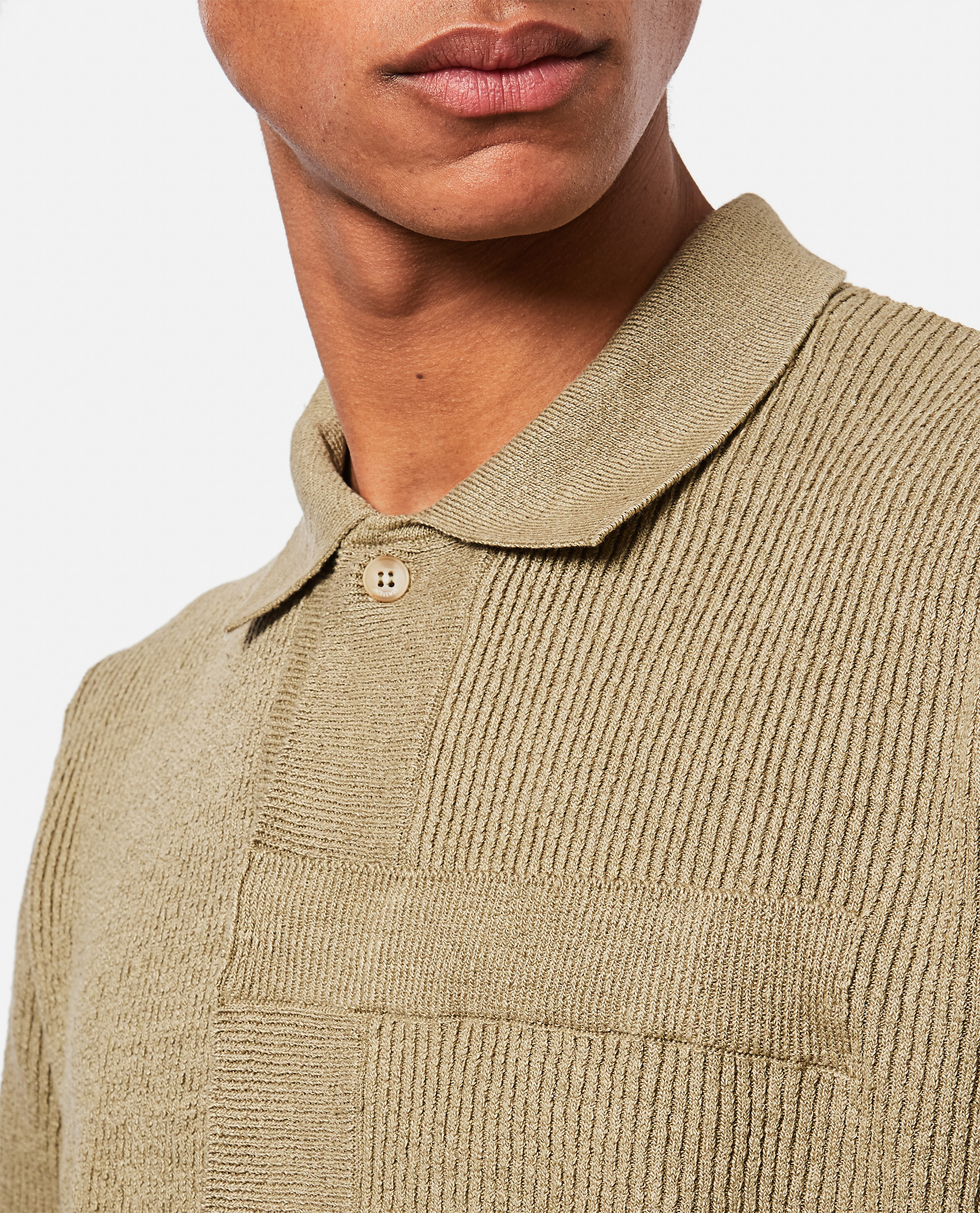 La chemise maille knitted polo shirt Men Jacquemus 000293780043248 4
