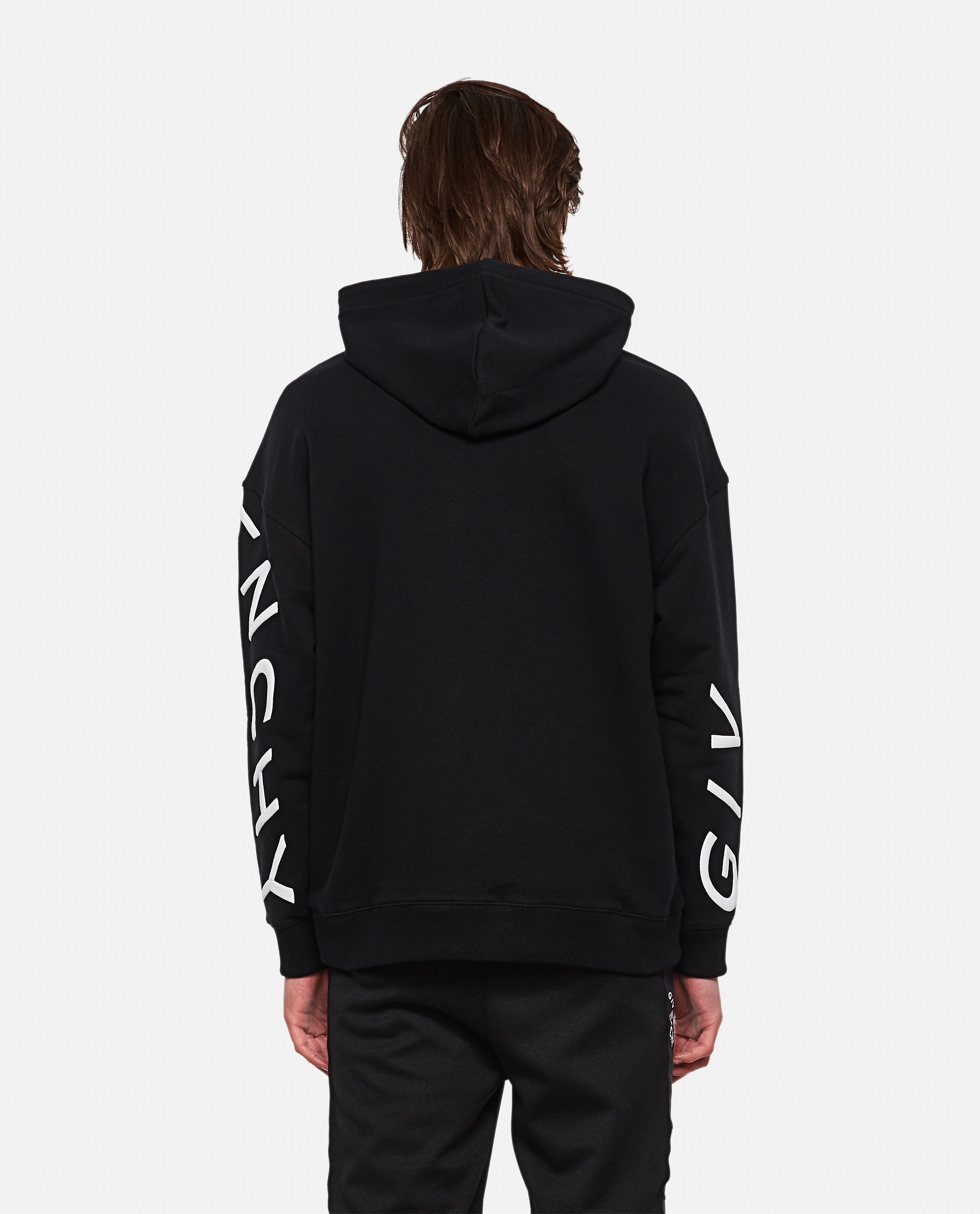 Refracted sweatshirt with embroidery Men Givenchy 000253110037400 3
