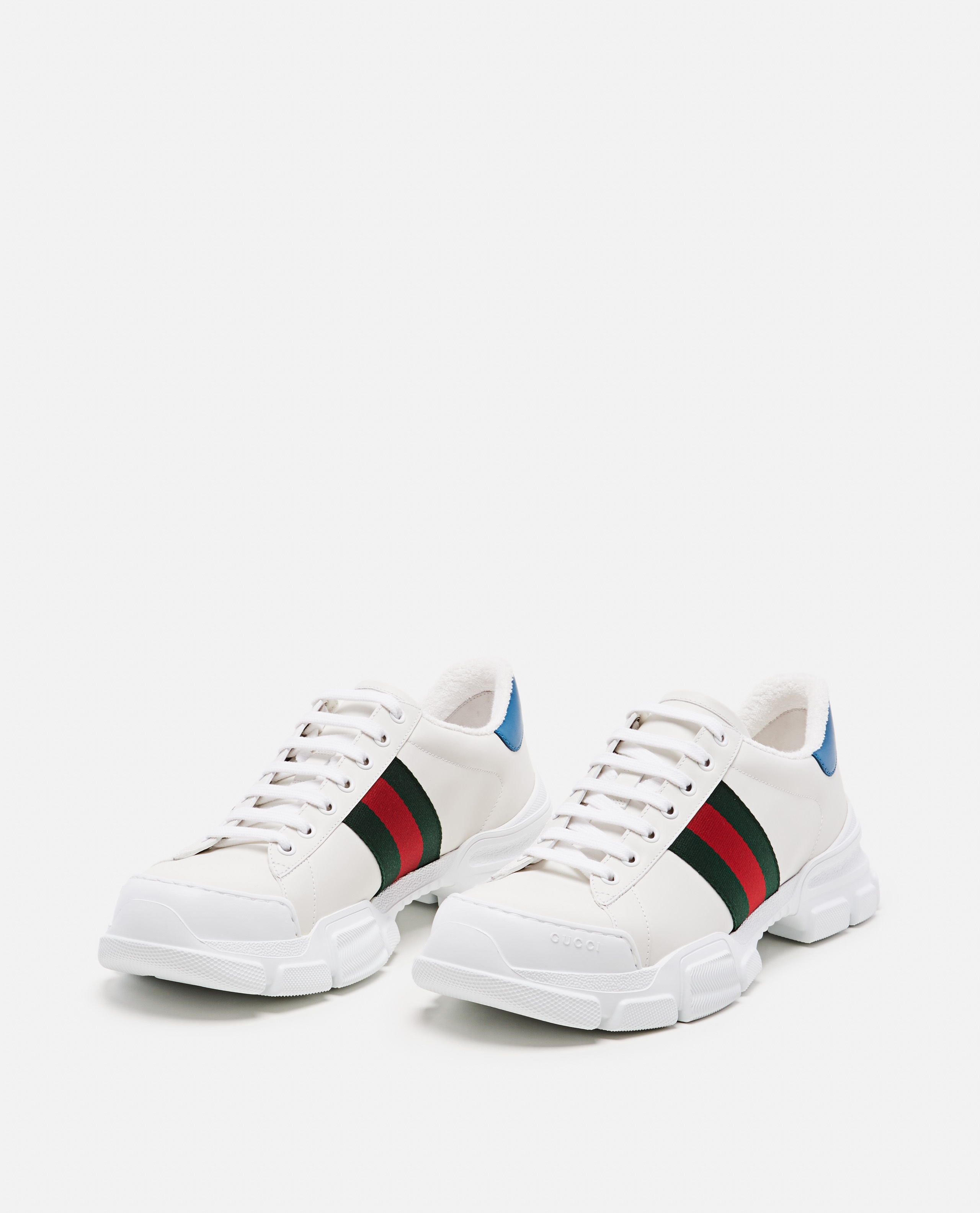 Sneaker with Web tape Men Gucci 000267880039516 2