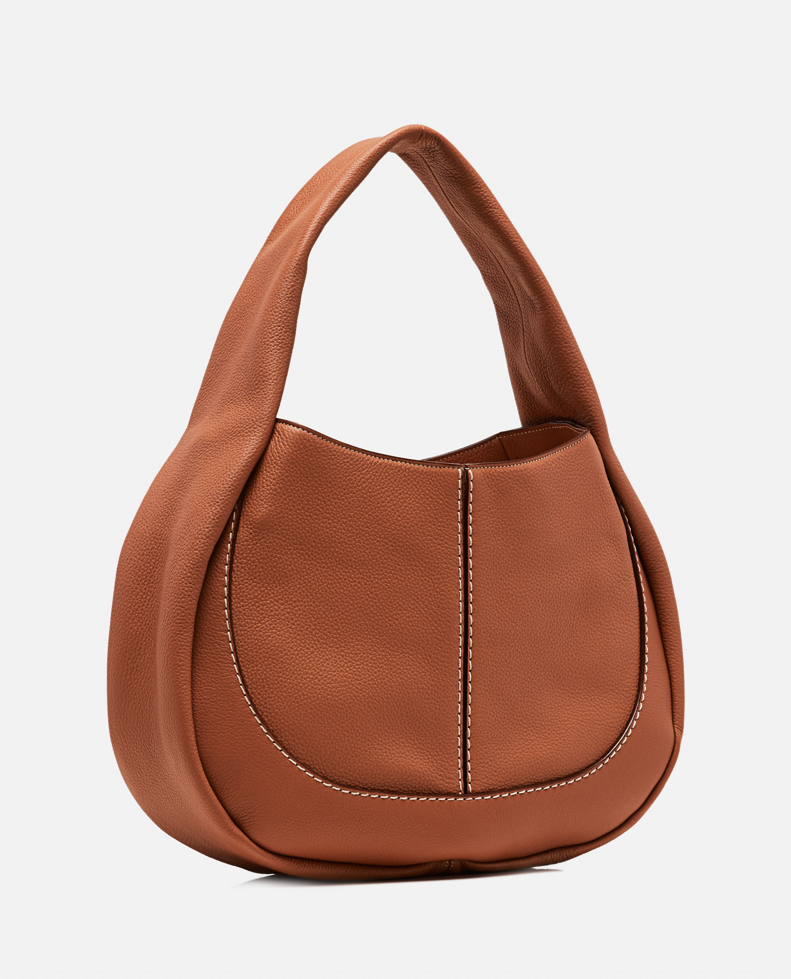 Borsa hobo media  in pelle Donna Tod's 000296980043677 2