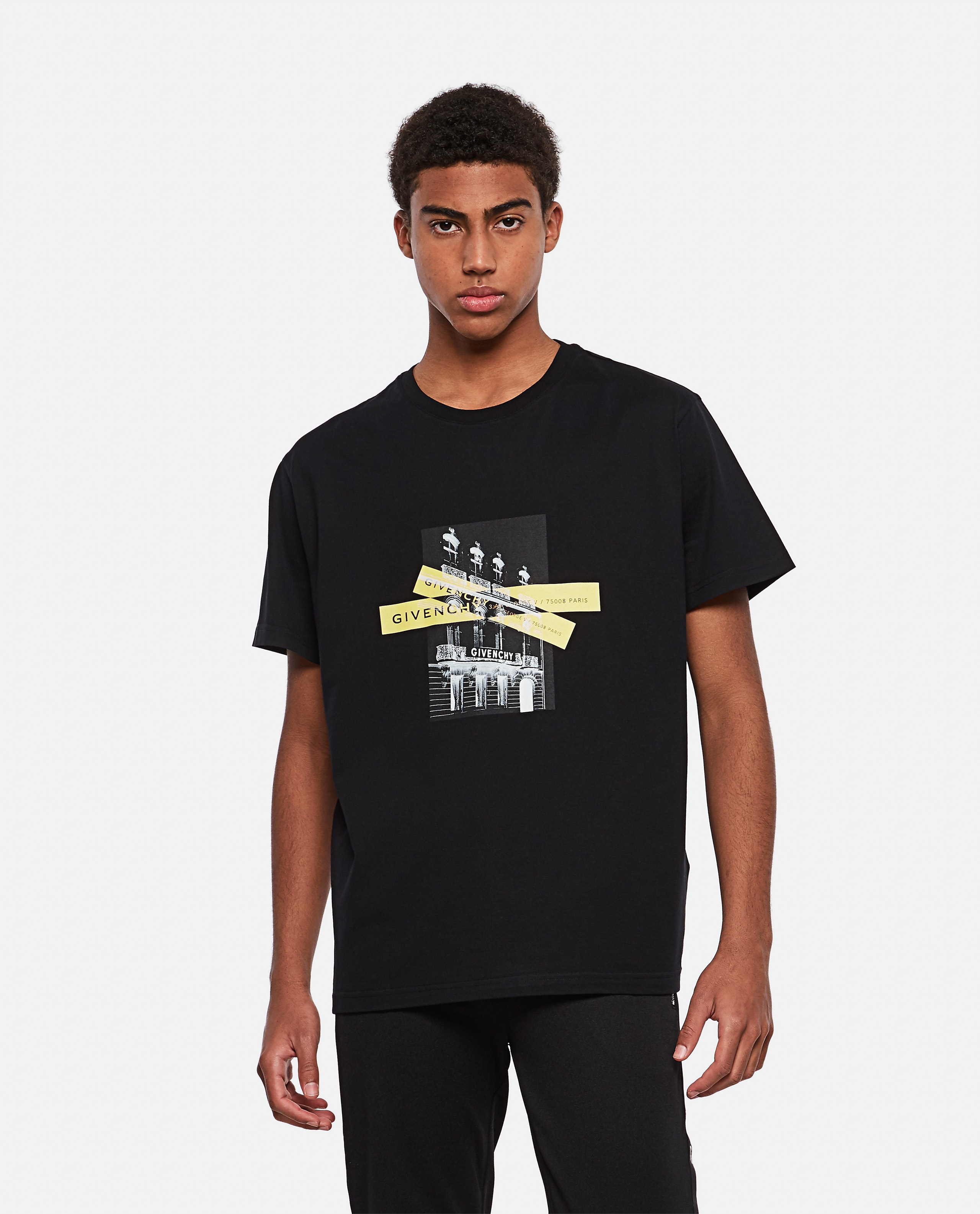 Cotton T-shirt with print Men Givenchy 000301940044341 1