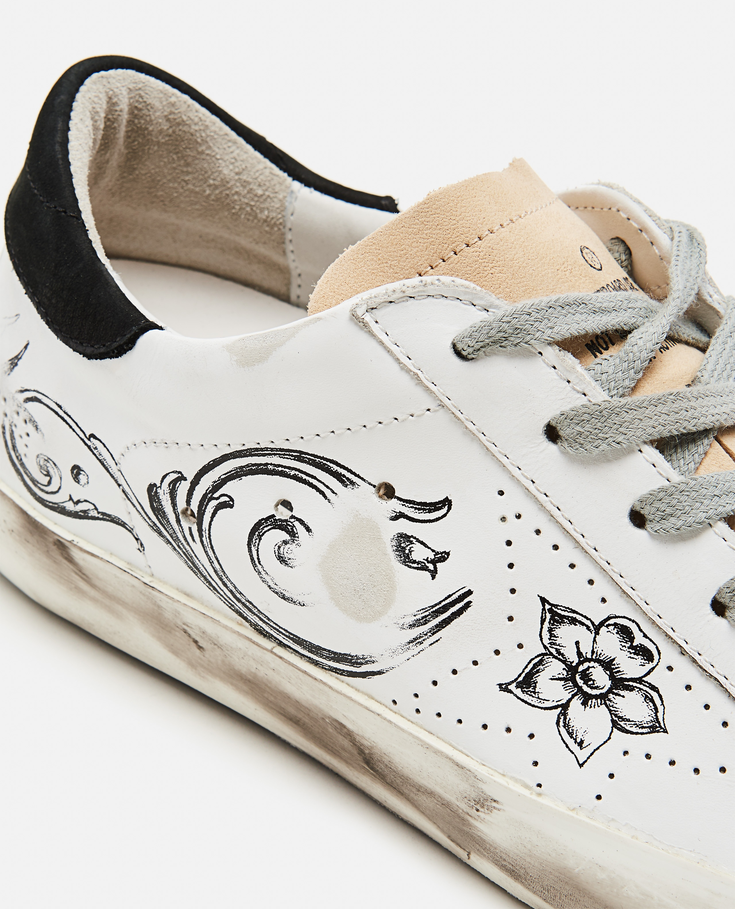 Super-Star sneakers with tattoo print Women Golden Goose 000256690037927 4