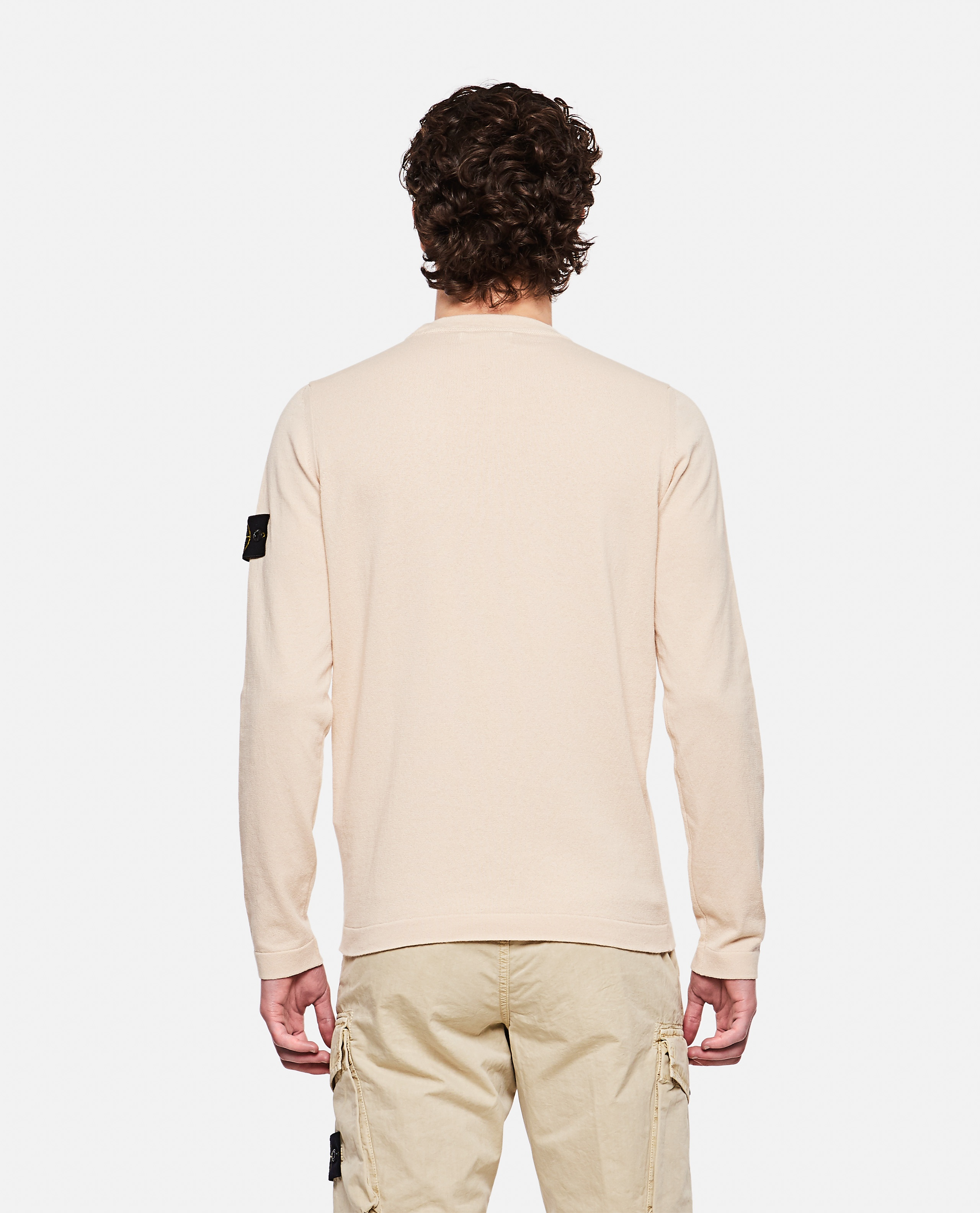 Sweater with logo patch Men Stone Island 000292730043111 3