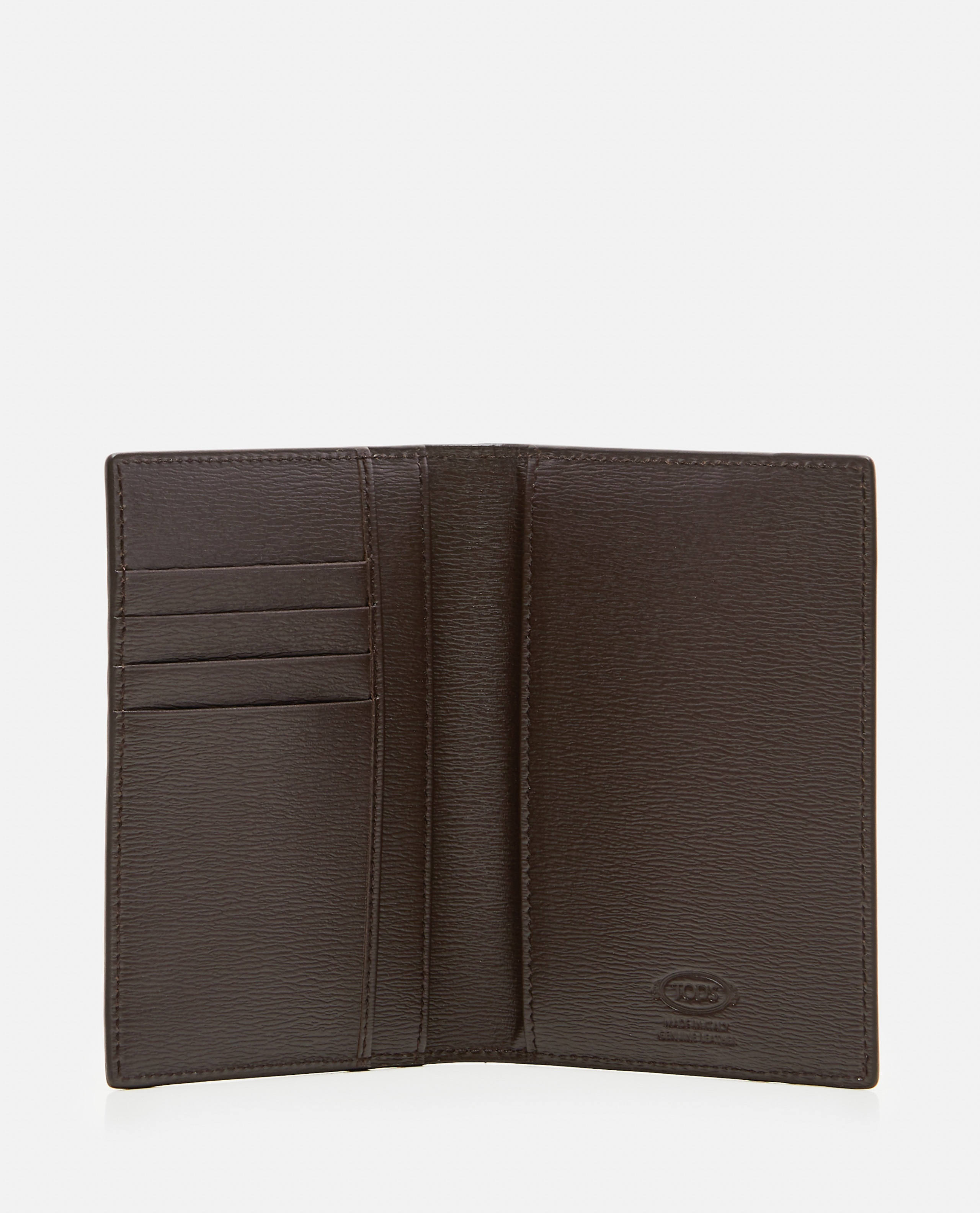 Wallet in refined leather  Men Tod's 000268710039620 3