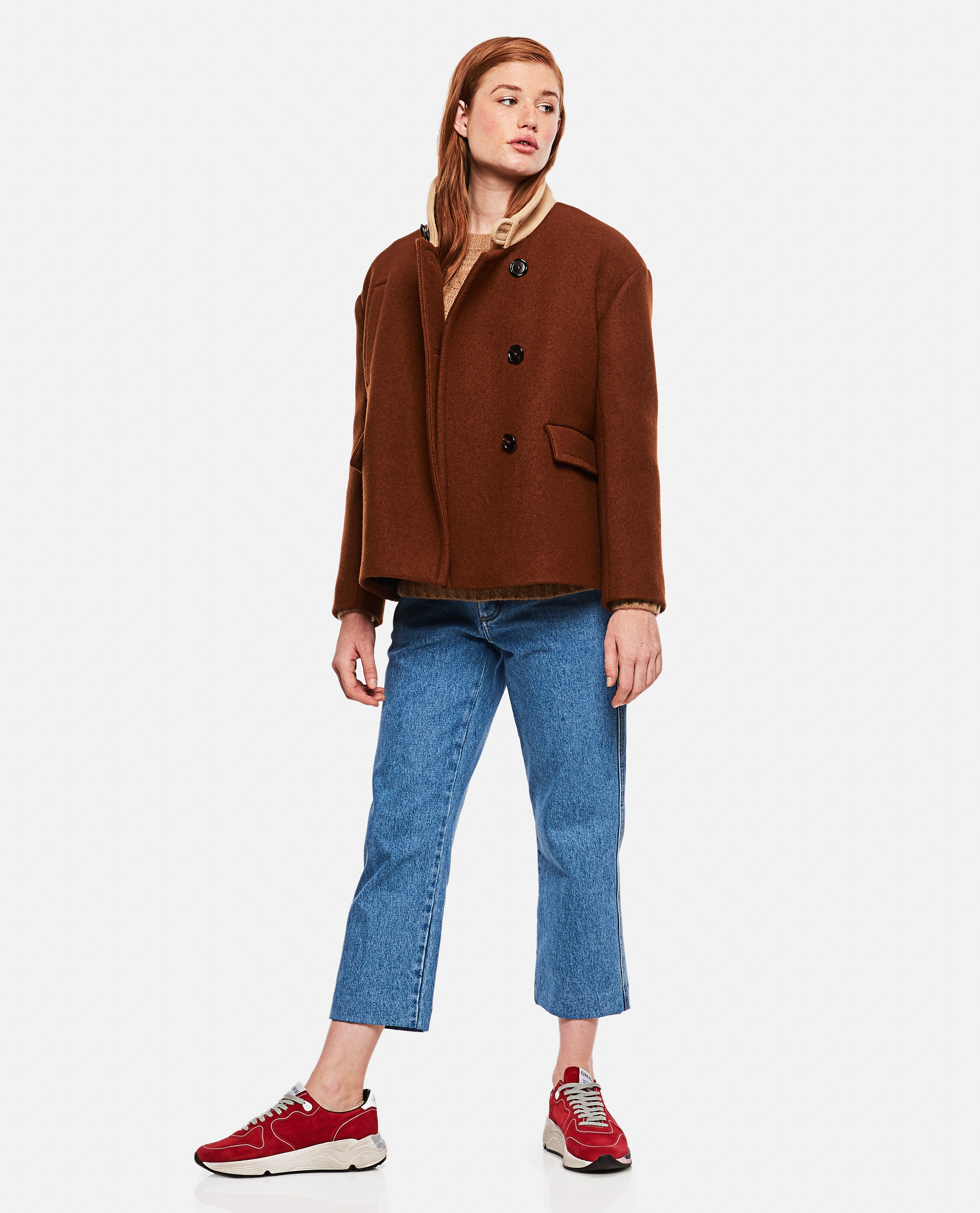 Wool Jacket Women Marni 000180950026919 4