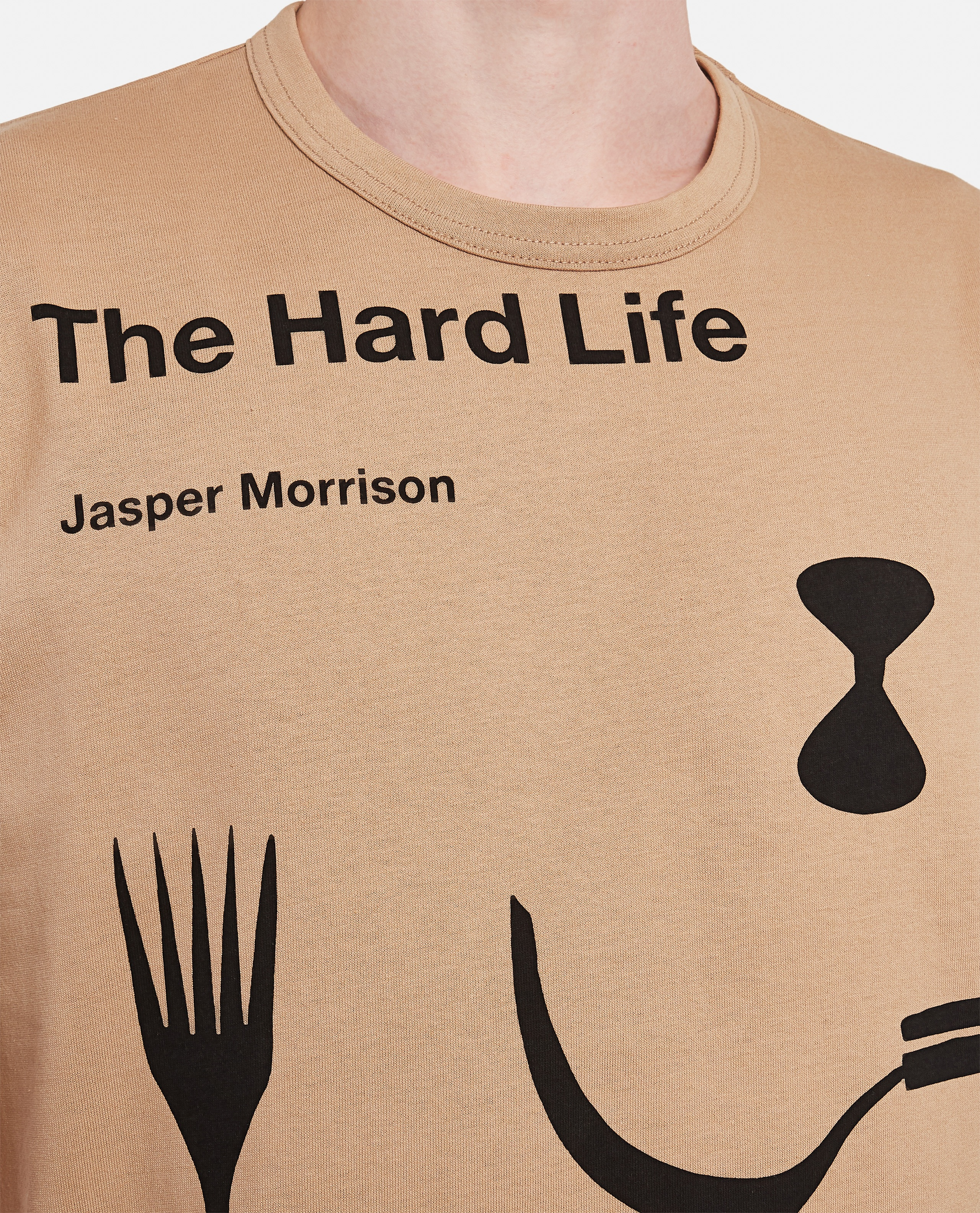 T-shirt in cotone The Hard Life Uomo Junya Watanabe 000300790044197 4