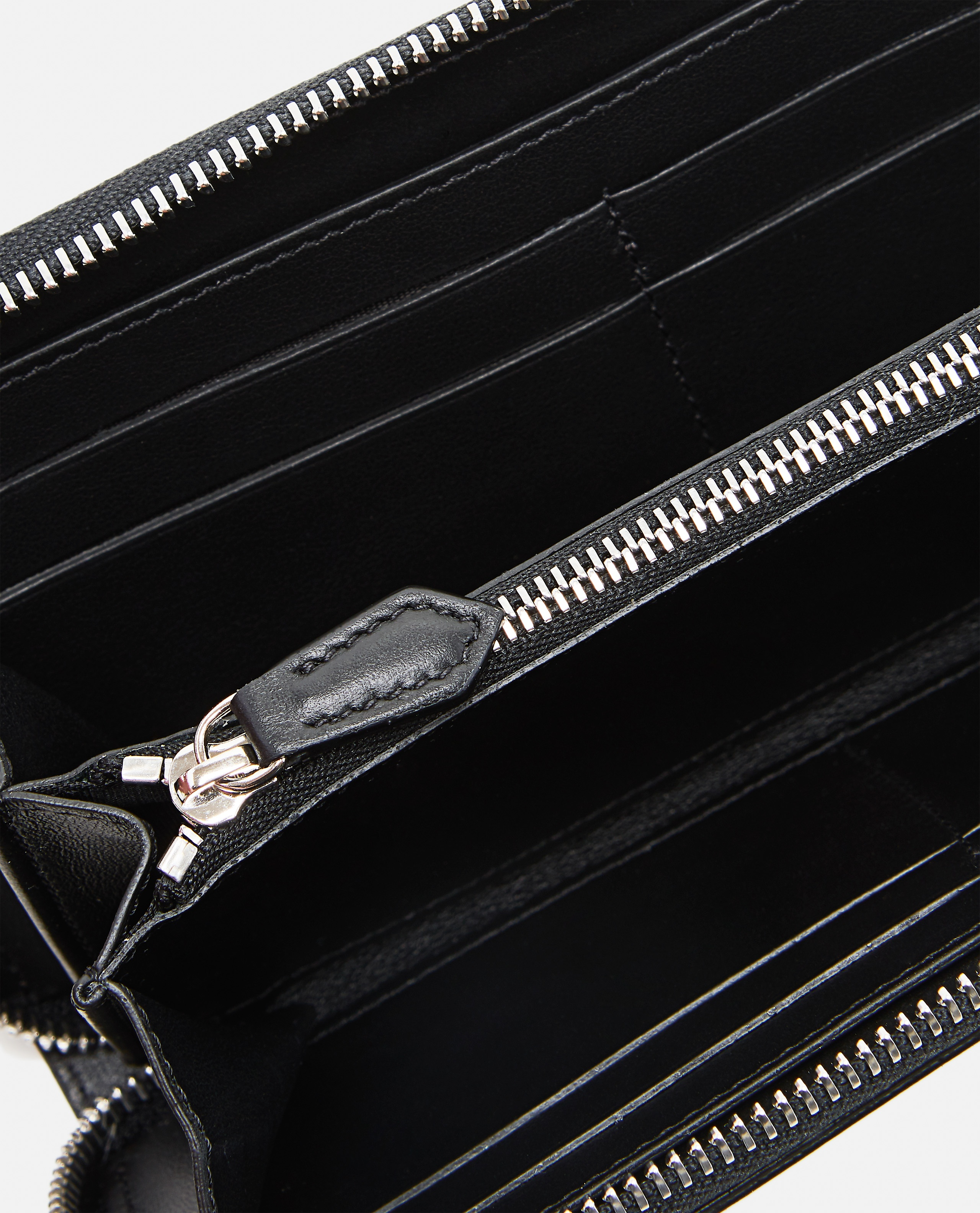 Black smooth leather wallet Men Givenchy 000226150033447 4