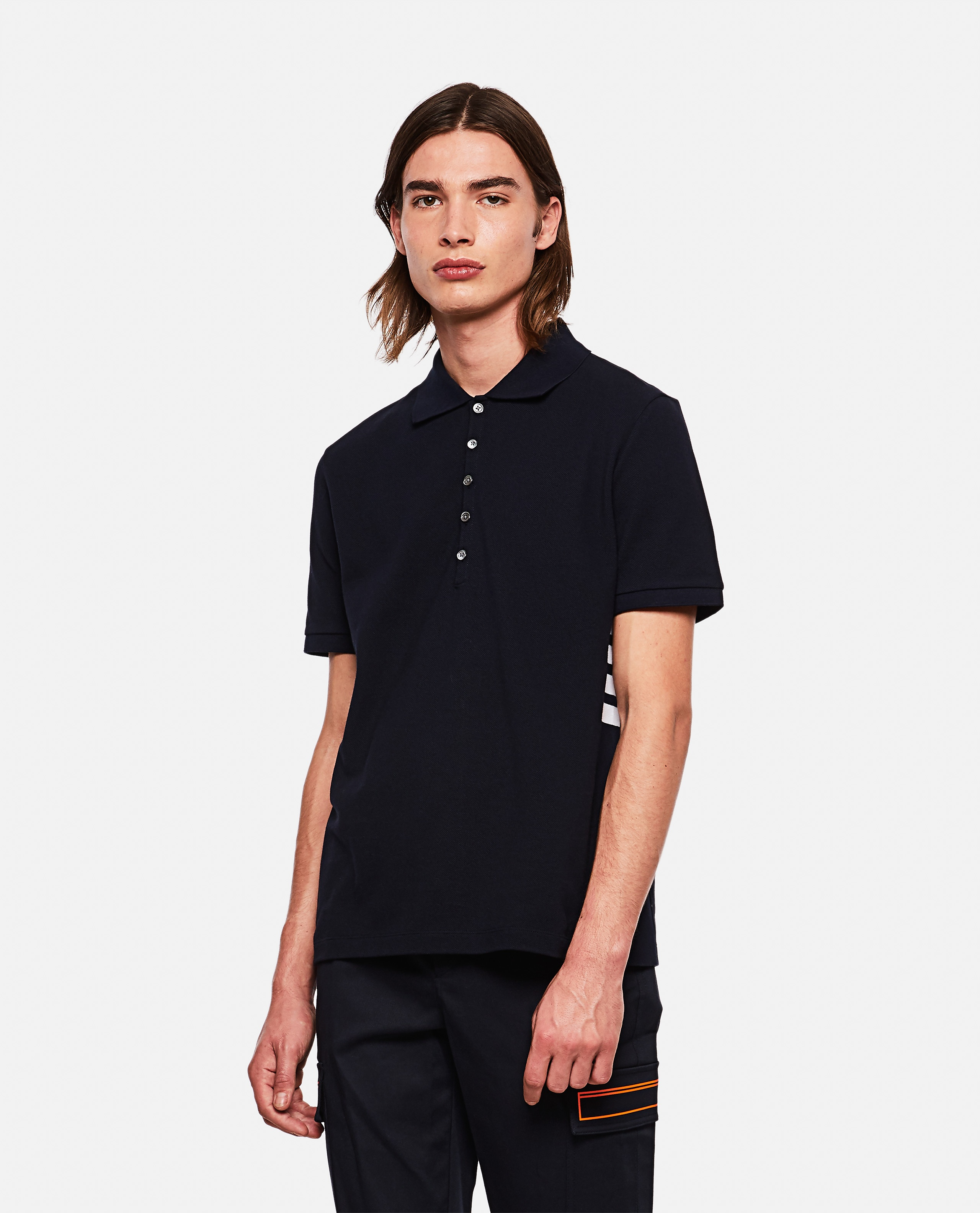Thom Browne 4-Bar polo shirt  Men Thom Browne 000253530037449 1