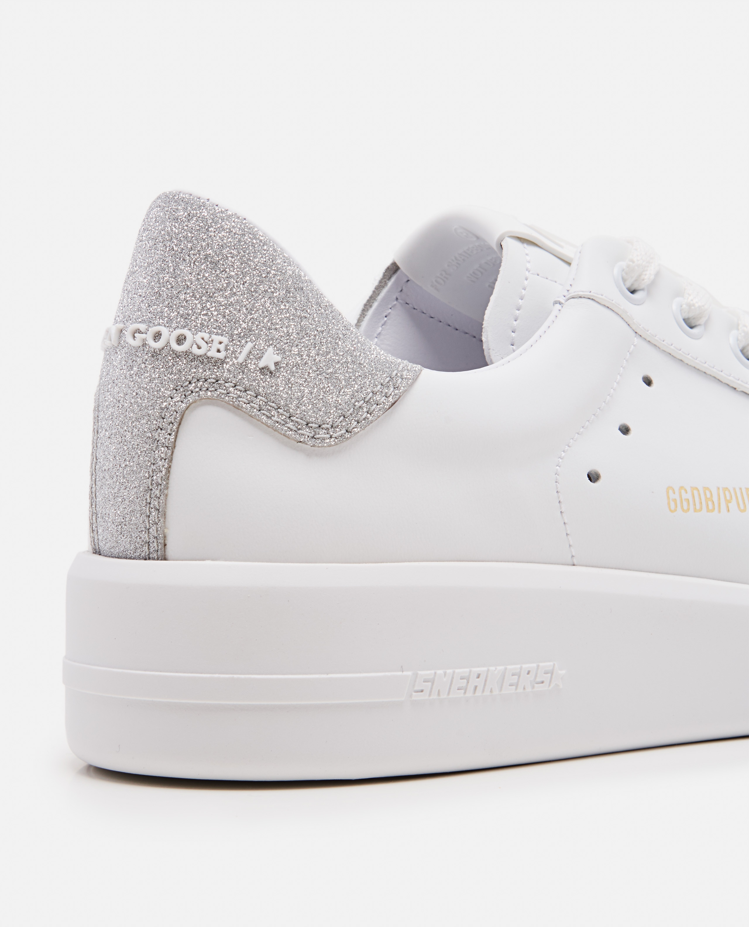 White leather sneakers  Women Golden Goose 000215590031979 4